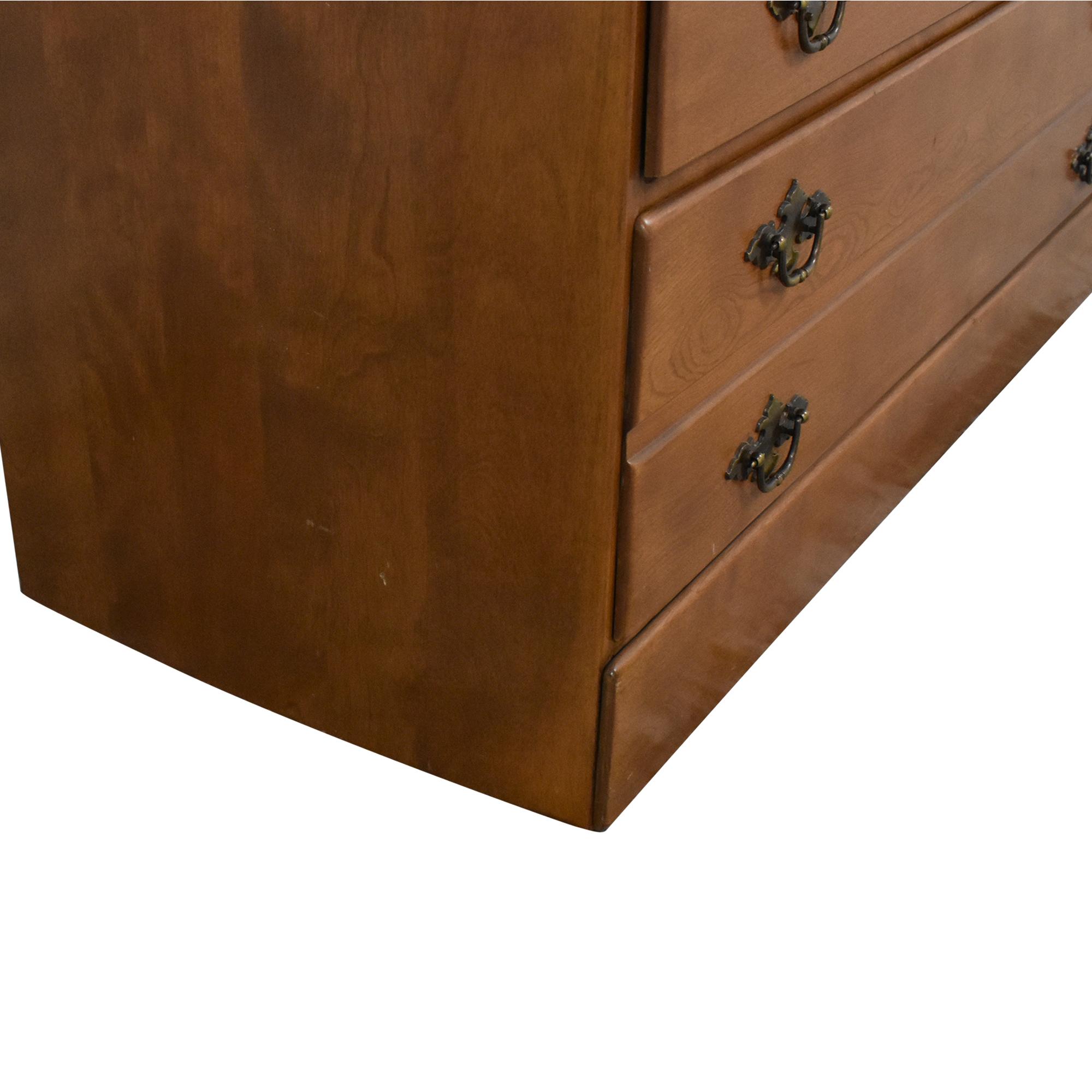 buy Ethan Allen Baumritter Three Drawer Chest Ethan Allen Dressers