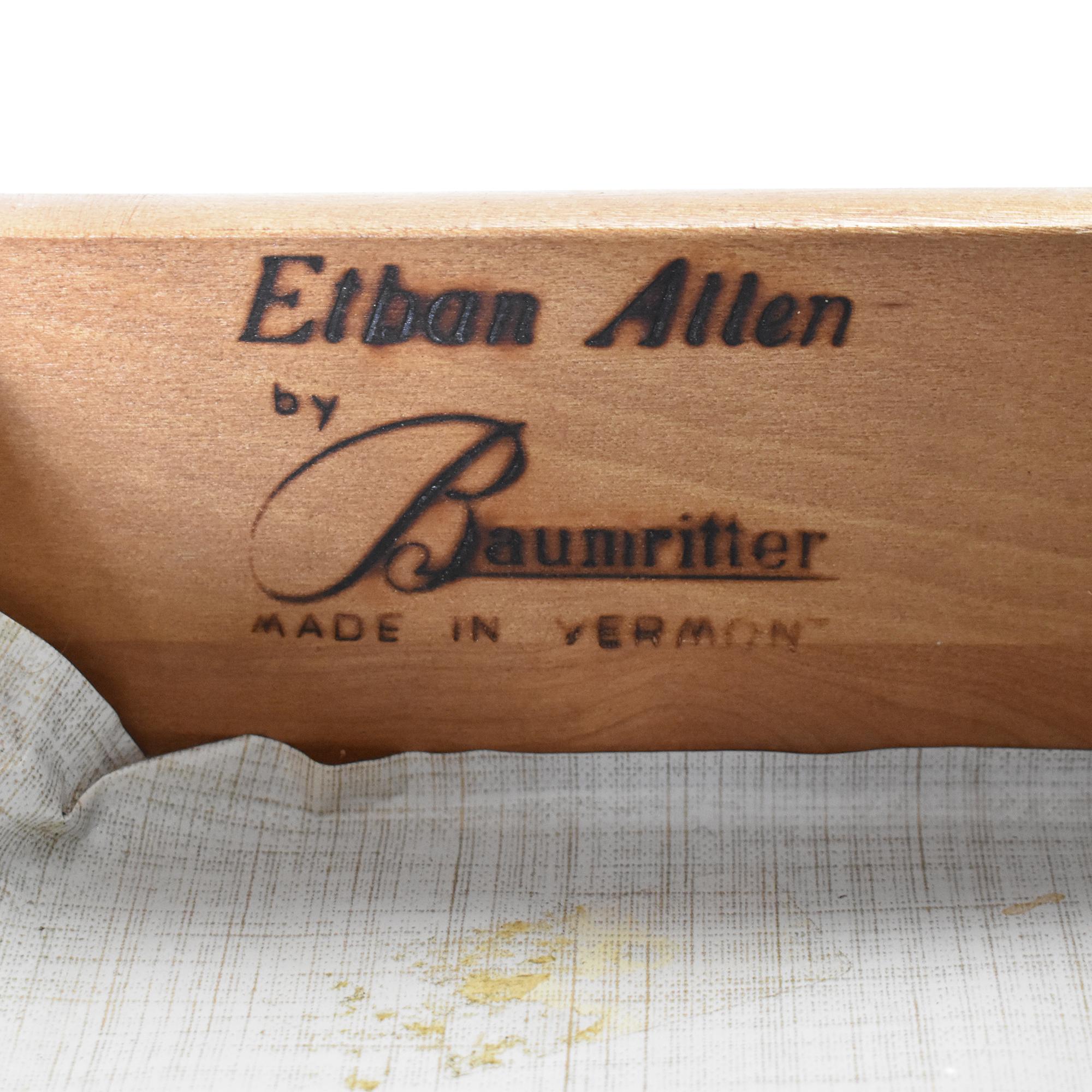 Ethan Allen Ethan Allen Baumritter Four Drawer Chest  Dressers