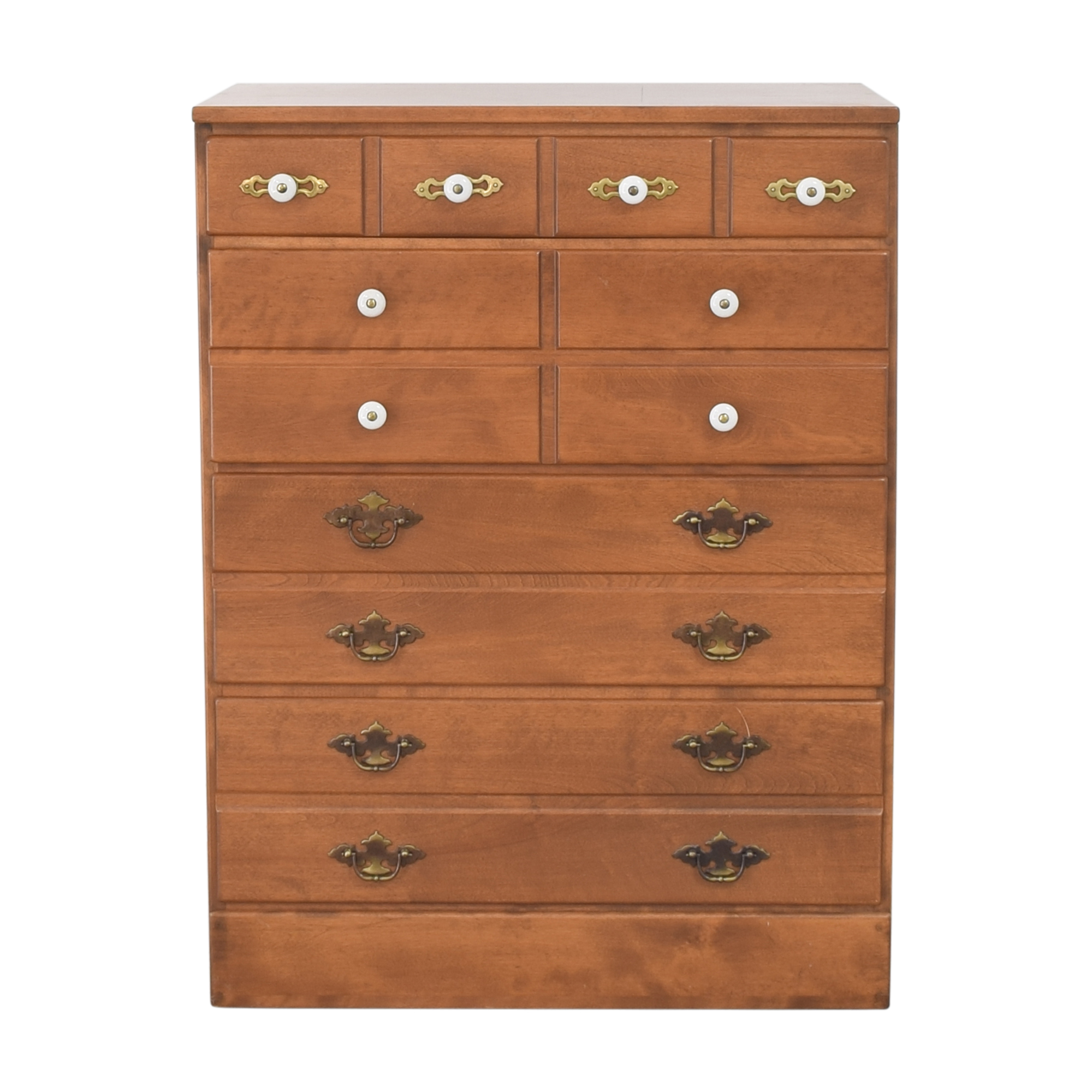 shop Ethan Allen Baumritter Four Drawer Chest  Ethan Allen Storage