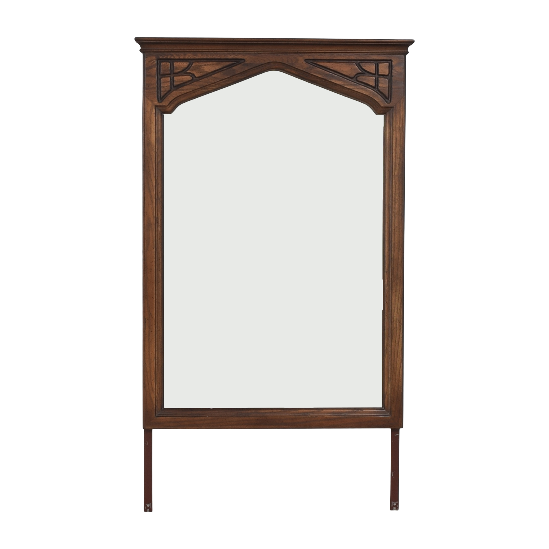 Ethan Allen Ethan Allen Carved Frame Floor Mirror discount