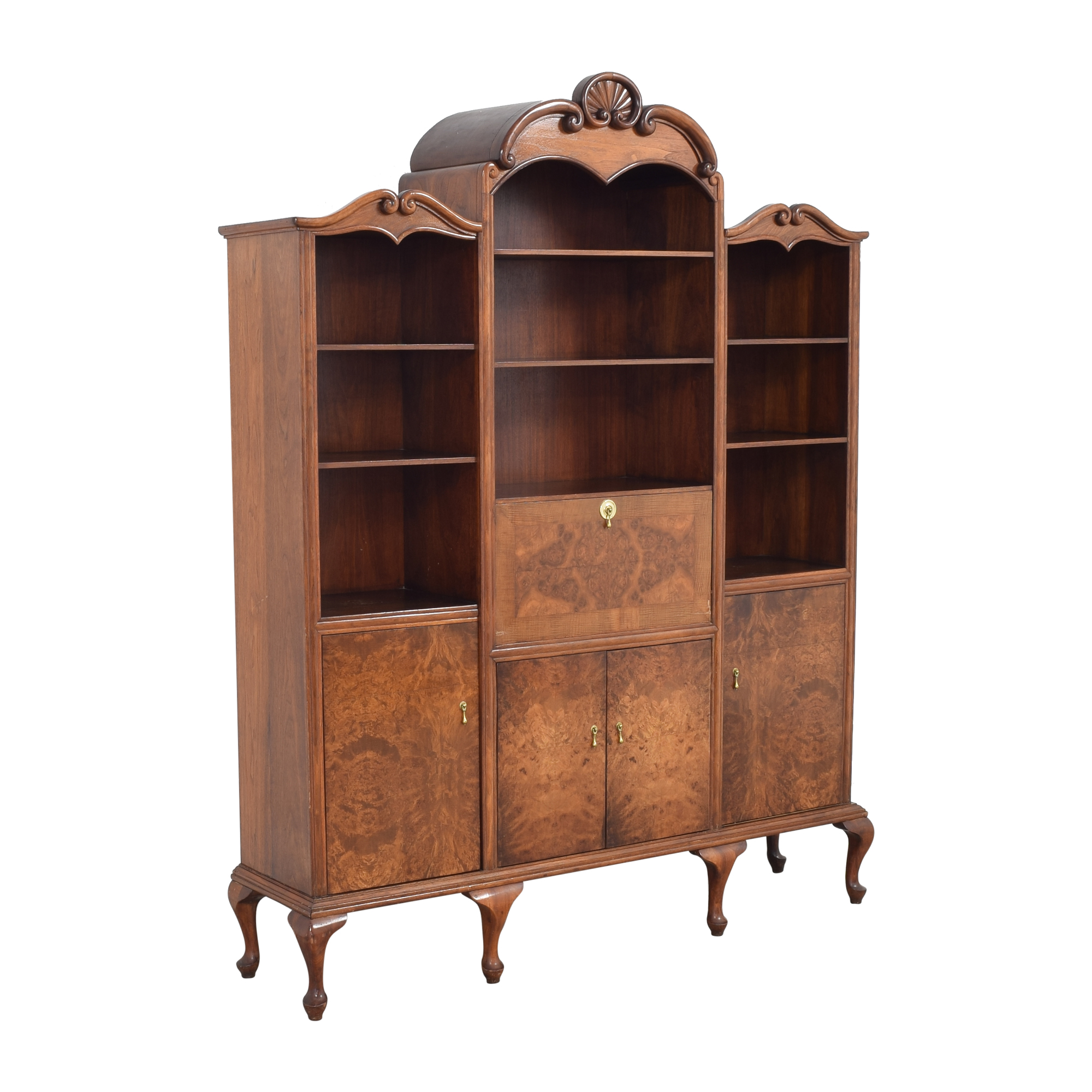 Breakfront with Bar Cabinet nj