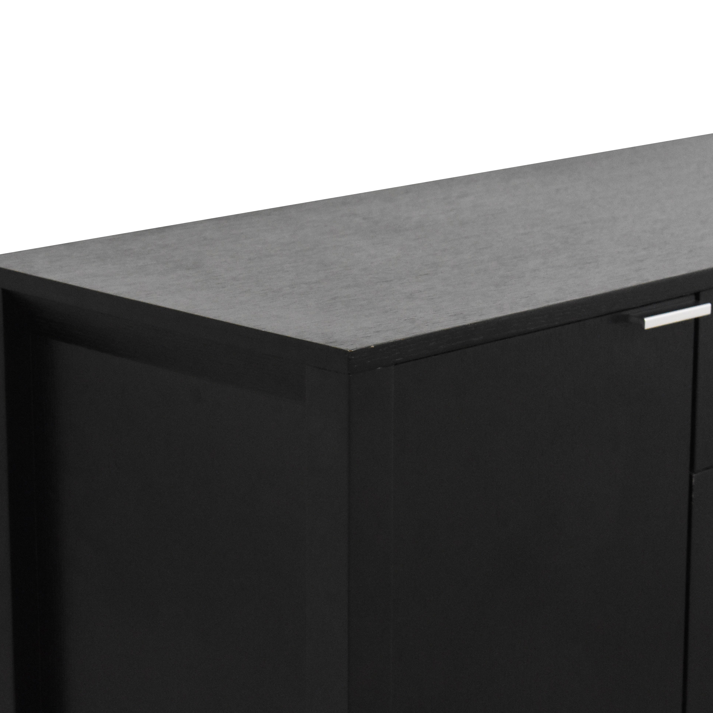 Crate & Barrel Crate & Barrel Large Triad Sideboard dimensions