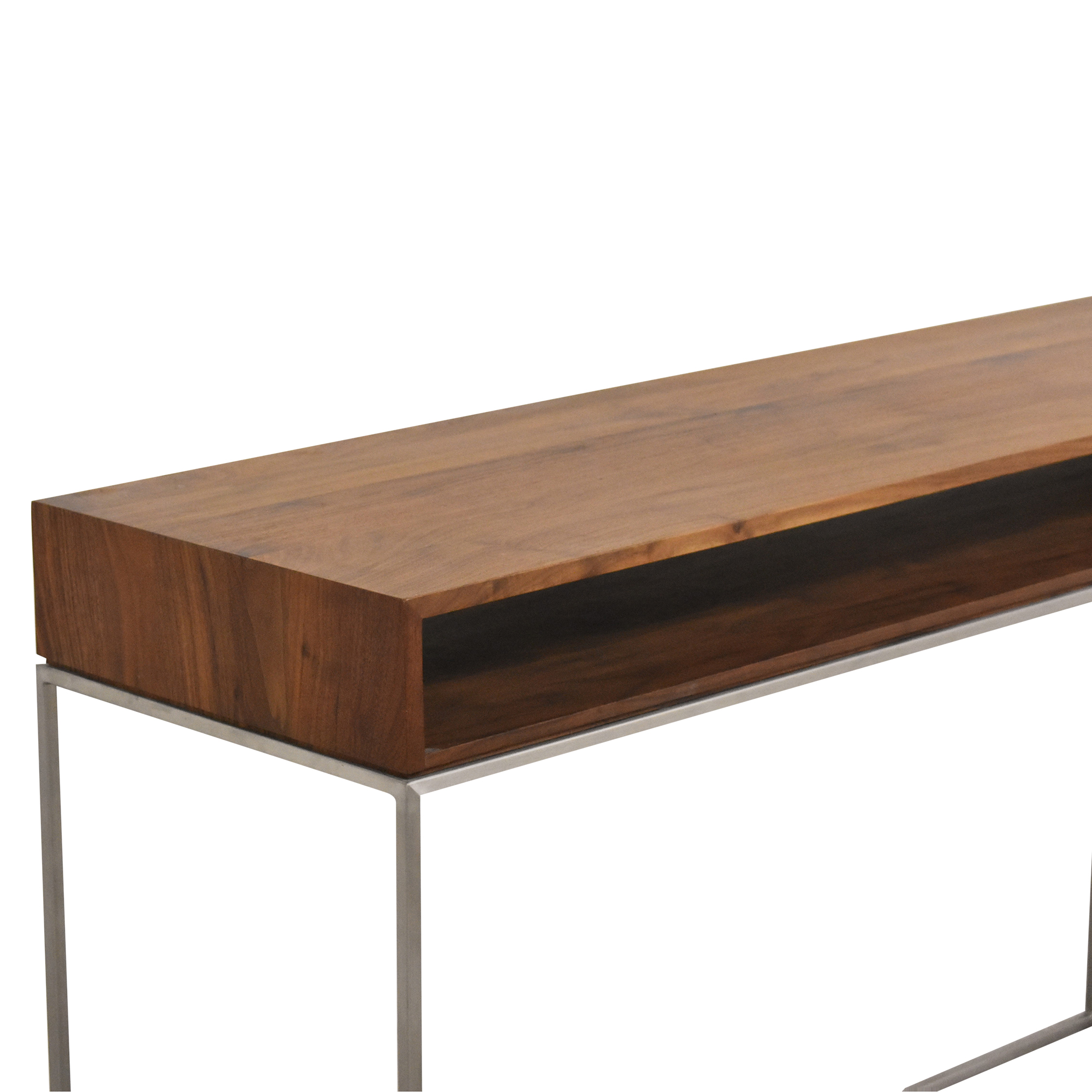 Crate & Barrel Crate & Barrel Frame Console Table pa