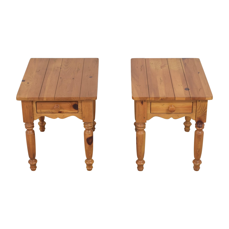 Ethan Allen Ethan Allen Single Drawer End Tables End Tables