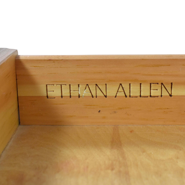 Ethan Allen Single Drawer End Tables sale