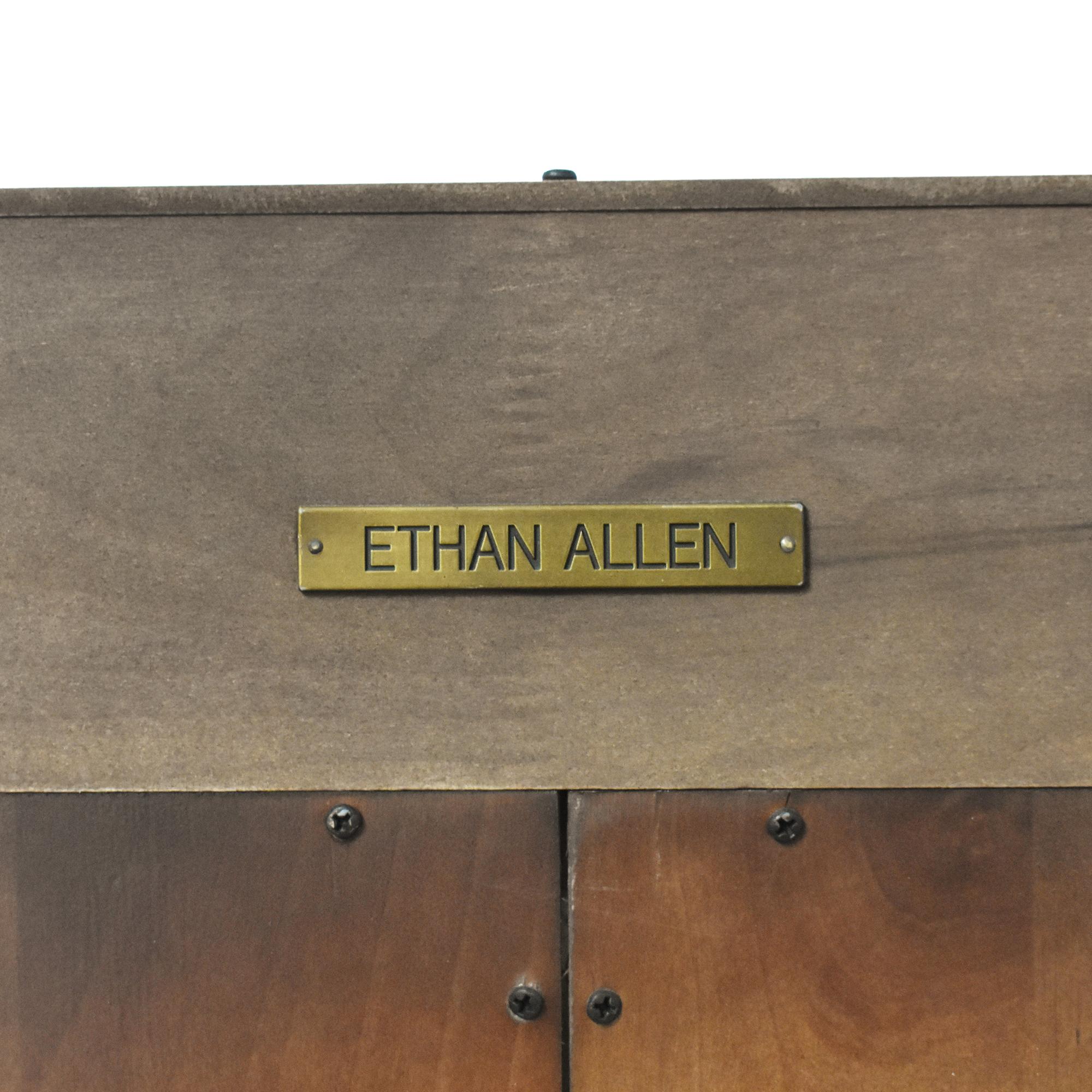 Ethan Allen Ethan Allen Double Bookcase price