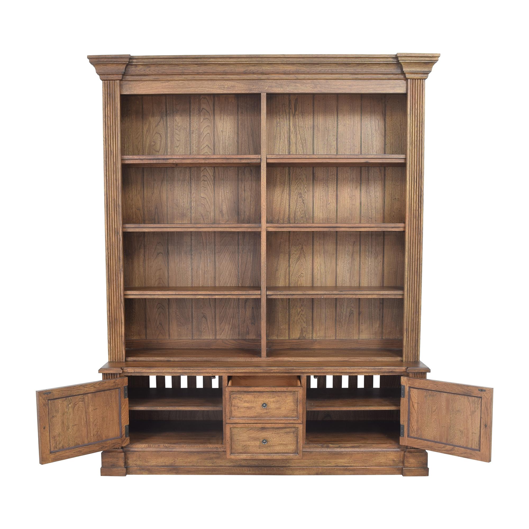 Ethan Allen Ethan Allen Double Bookcase ct