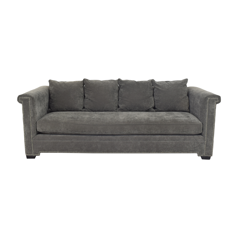buy Gabby Home Bench Cushion Sofa Gabby Home