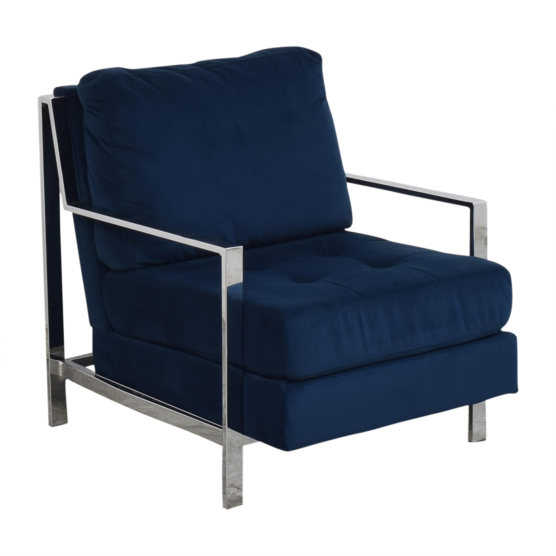 shop Safavieh Walden Tufted Accent Chair Safavieh Accent Chairs