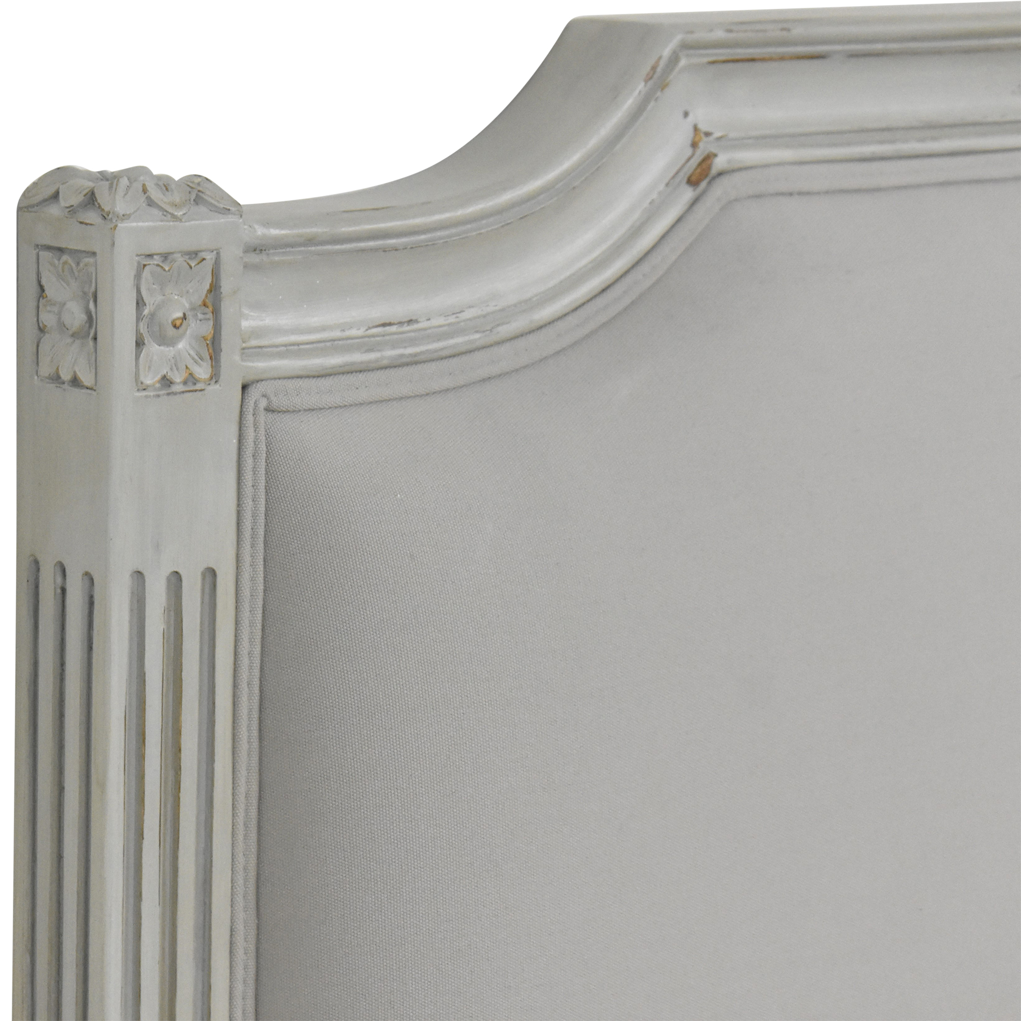 buy Wayfair One Allium Way Le Reve Upholstered Panel King Headboard Wayfair
