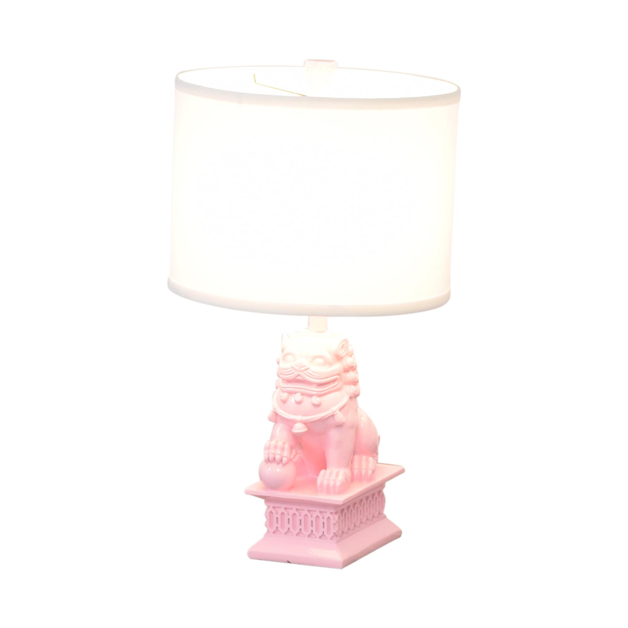 One Kings Lane One Kings Lane Mini Foo Table Lamp ma