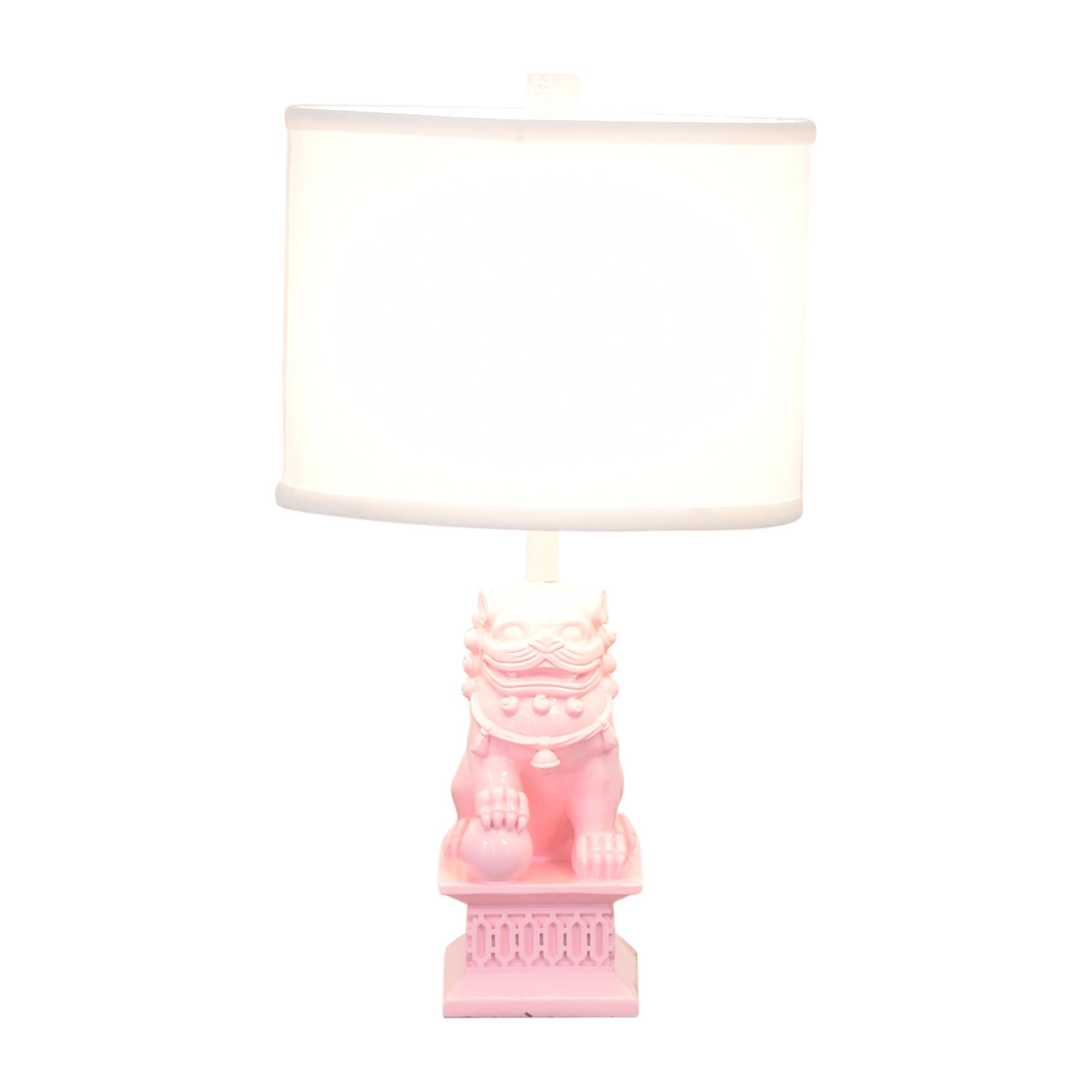 One Kings Lane One Kings Lane Mini Foo Table Lamp coupon