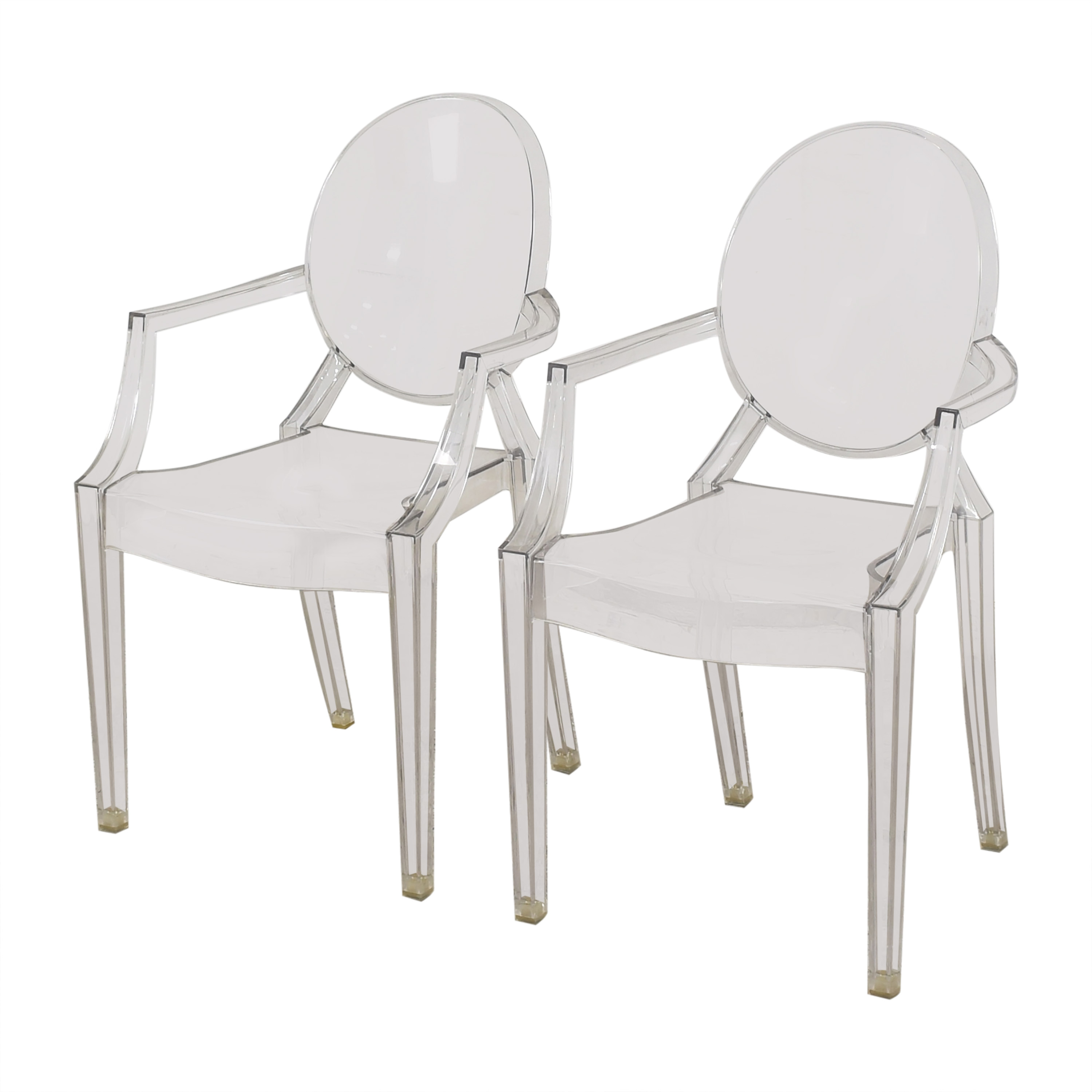 Kartell Kartell Louis Ghost Chairs nyc