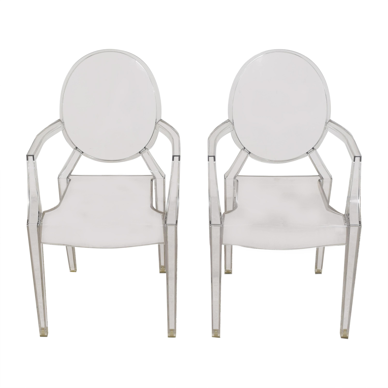 Kartell Kartell Louis Ghost Chairs nj
