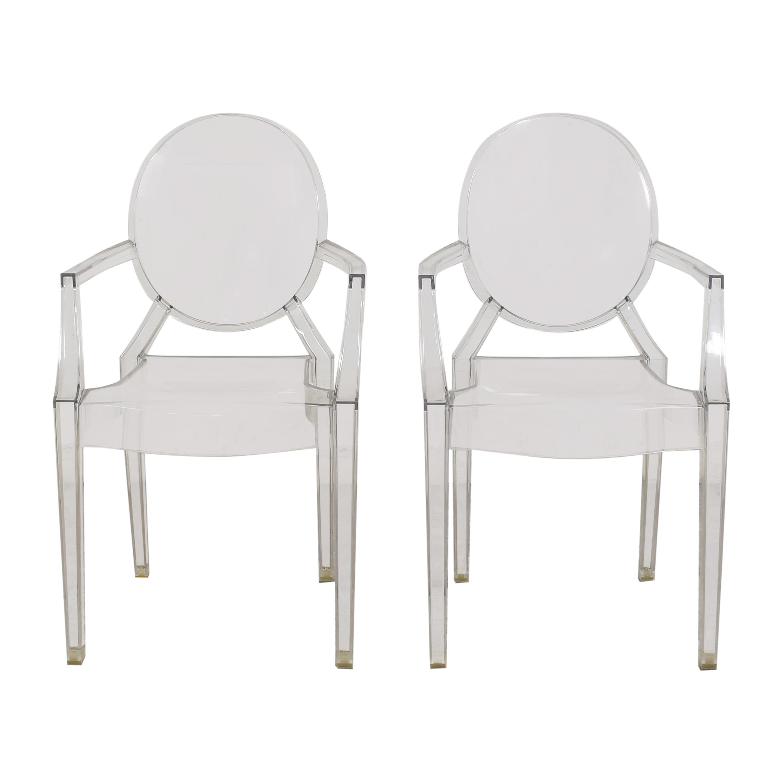 shop Kartell Kartell Louis Ghost Chairs online