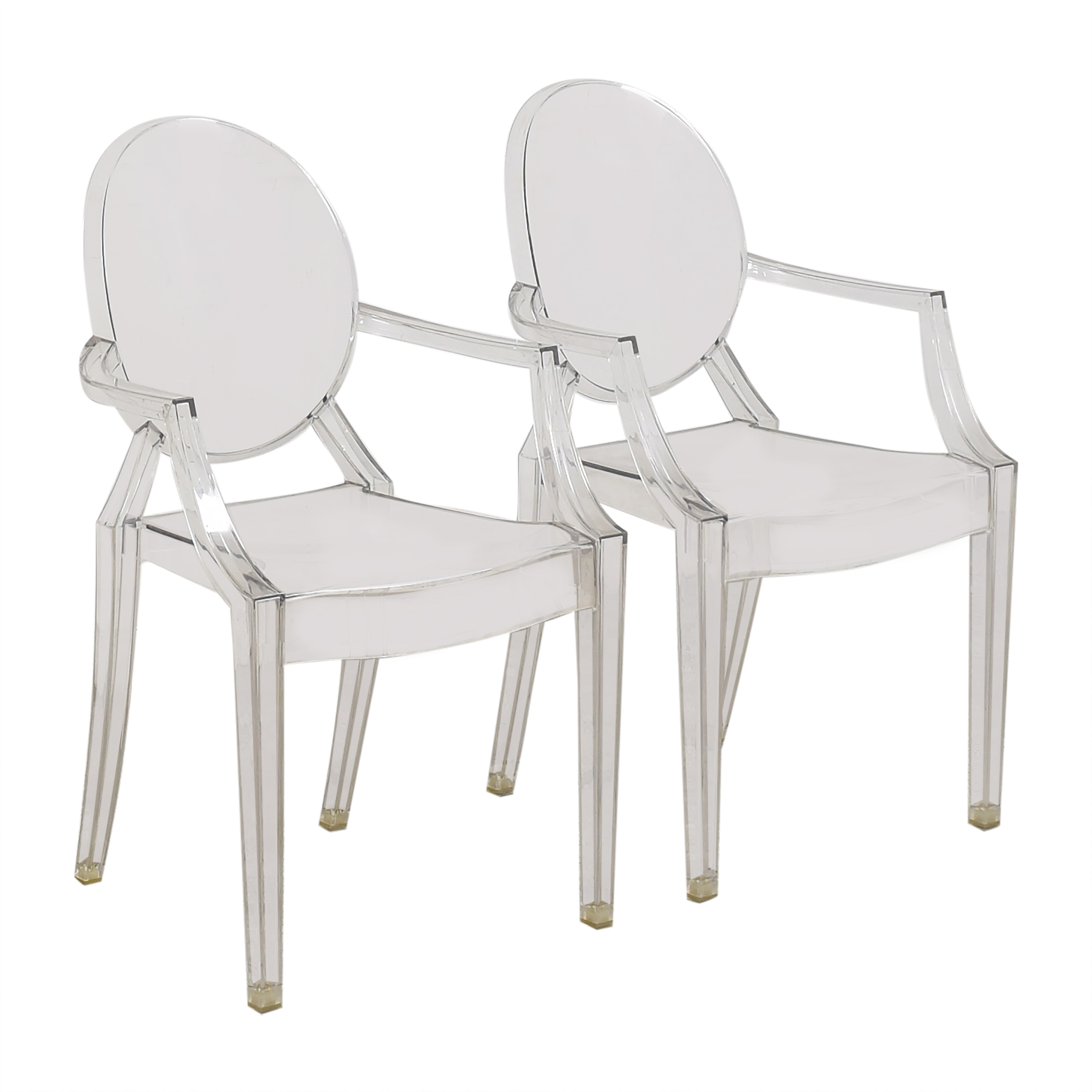 buy Kartell Louis Ghost Chairs Kartell Dining Chairs