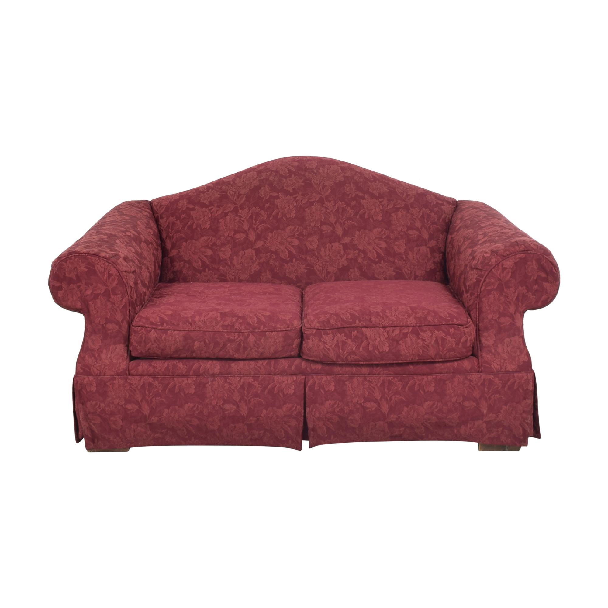 shop Craftmaster Camelback Skirted Sofa Craftmaster Furniture Classic Sofas