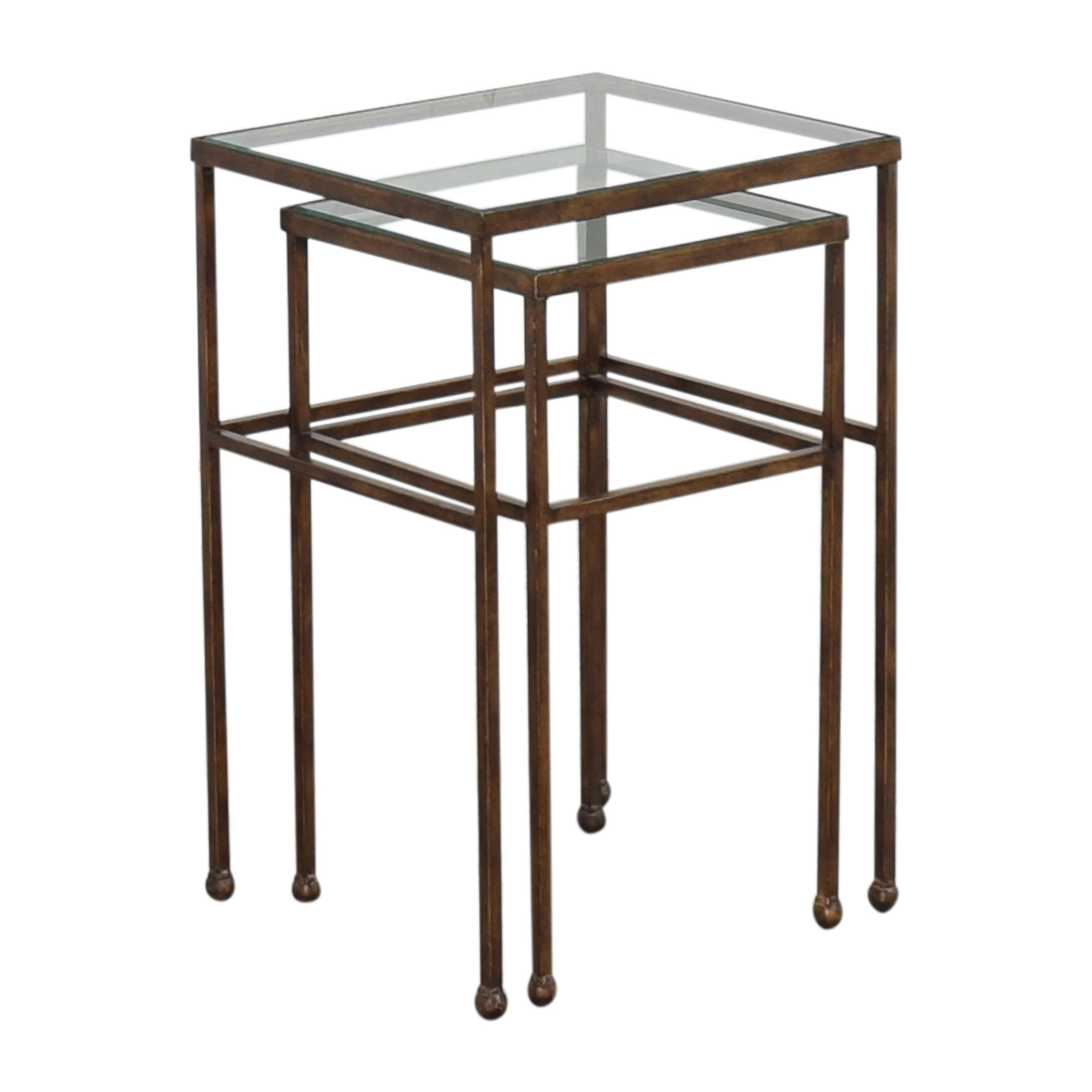Nested Side Tables brown