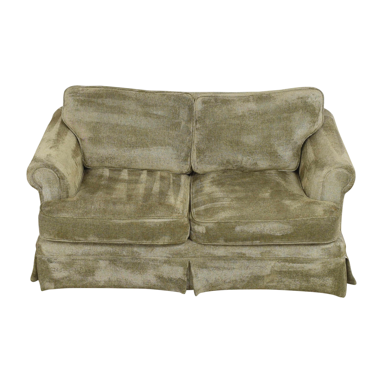 Custom Two Cushion Loveseat price