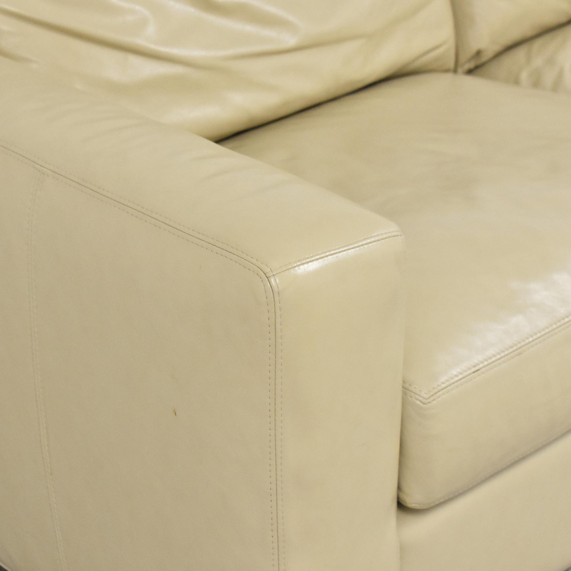 Room & Board Room & Board Two Cushion Sofa dimensions
