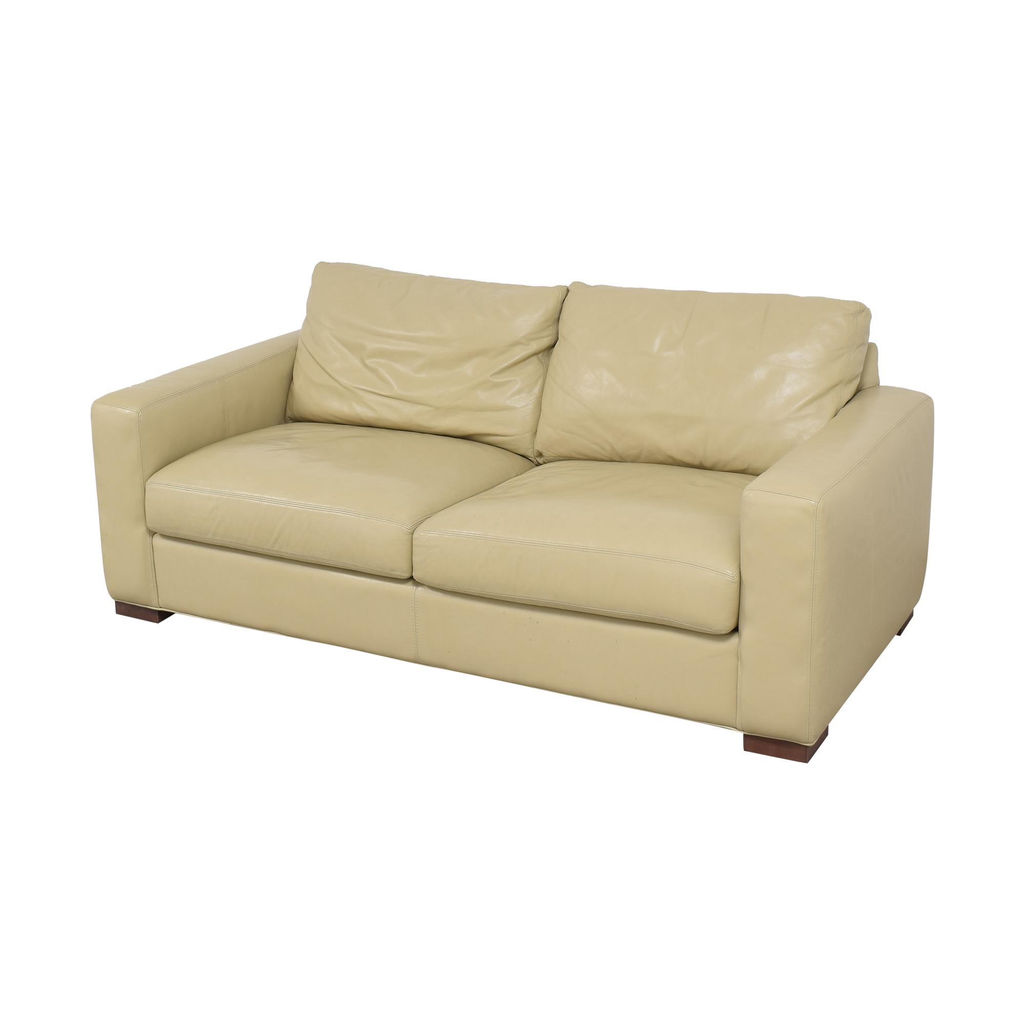 shop Room & Board Two Cushion Sofa Room & Board Classic Sofas