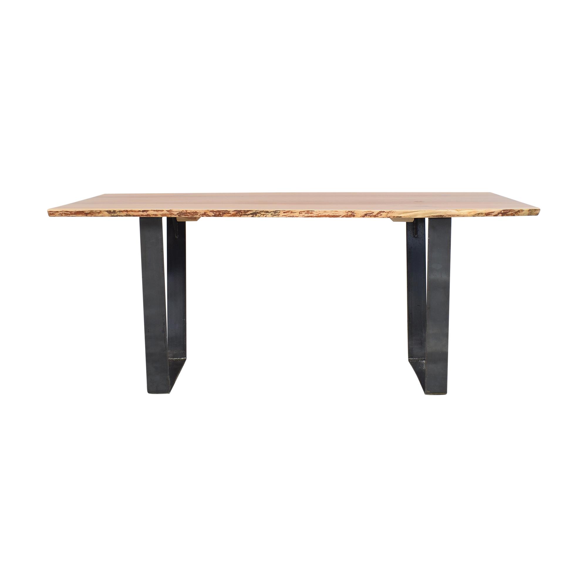 shop Contemporary Trends Scandinavian-Style Dining Table Contemporary Trends Tables