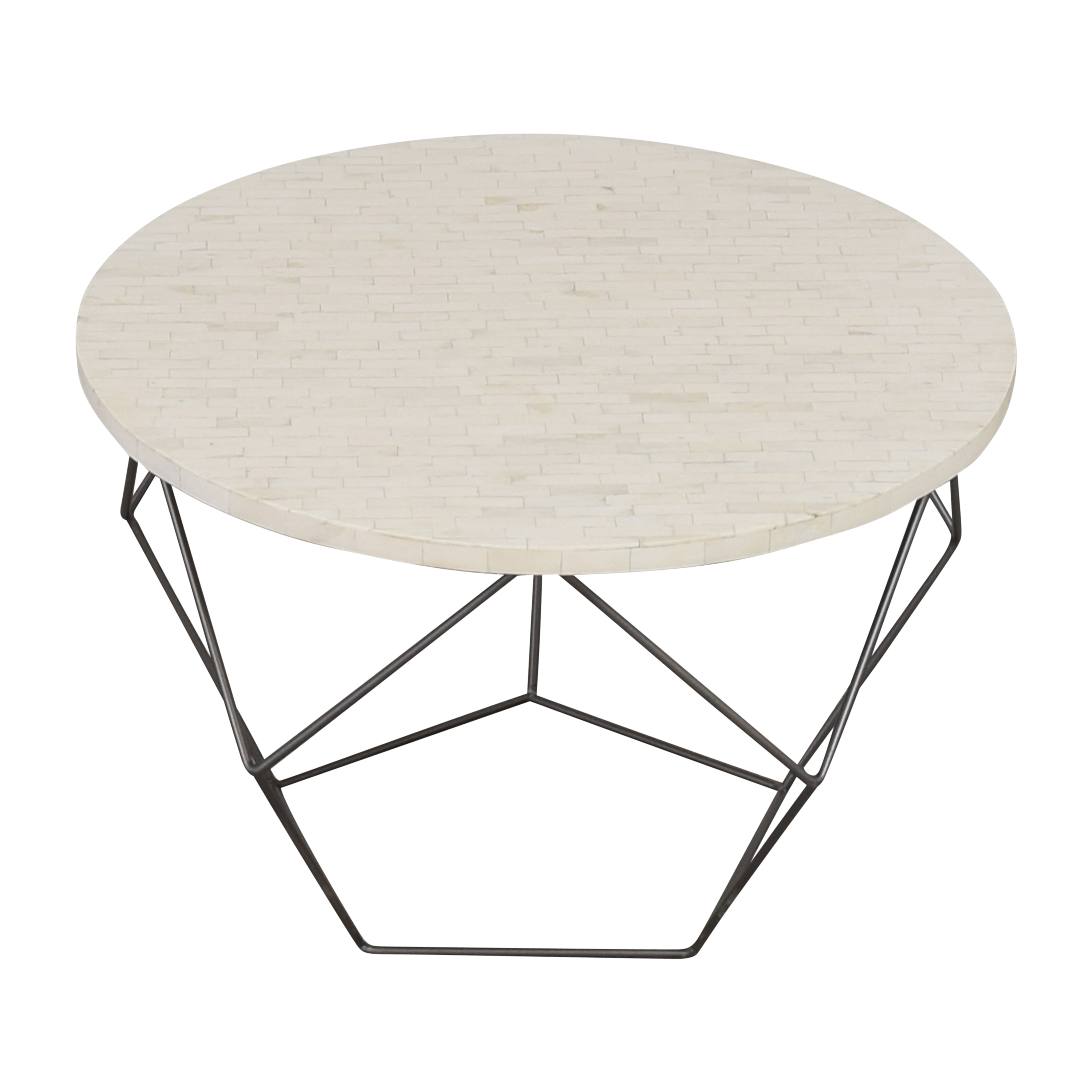 West Elm West Elm Origami Coffee Table dimensions