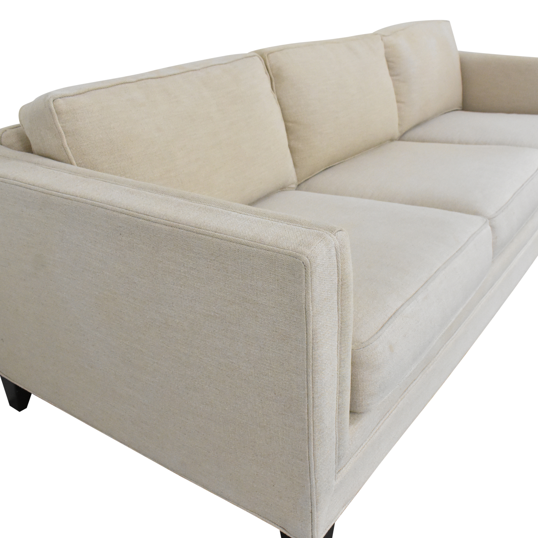 buy Mitchell Gold + Bob Williams Reese Three Cushion Sofa Mitchell Gold + Bob Williams