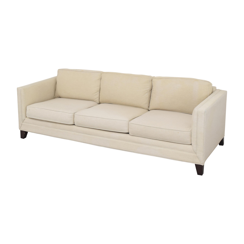 Mitchell Gold + Bob Williams Mitchell Gold + Bob Williams Reese Three Cushion Sofa nj