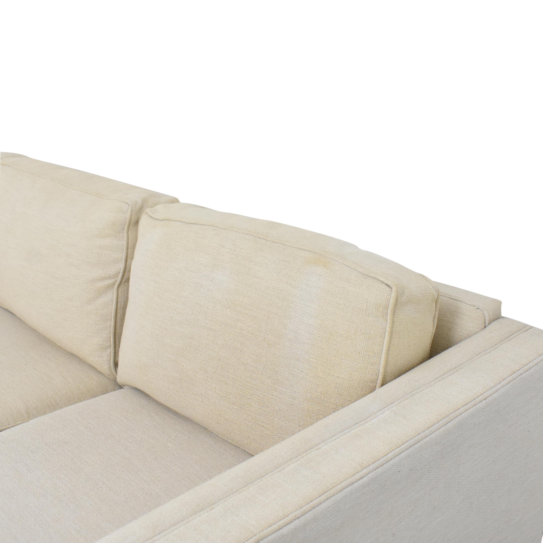 Mitchell Gold + Bob Williams Reese Three Cushion Sofa Mitchell Gold + Bob Williams