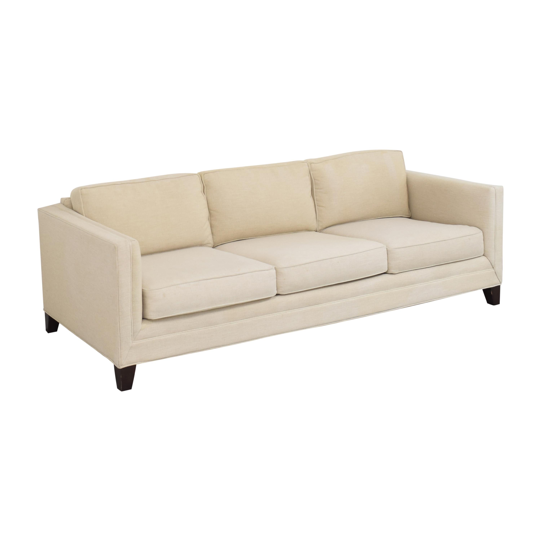 Mitchell Gold + Bob Williams Mitchell Gold + Bob Williams Reese Three Cushion Sofa for sale