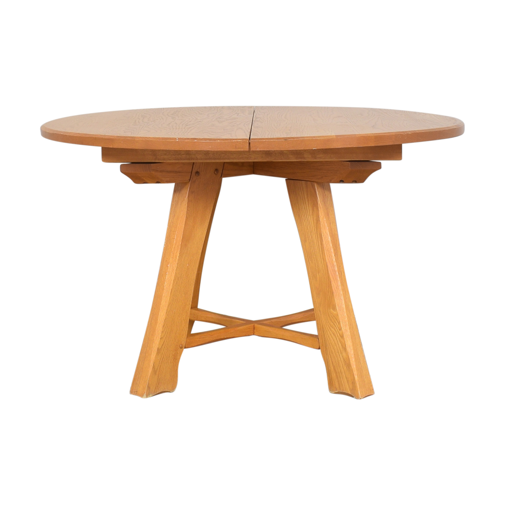 buy Hunt Country Furniture Round Extension Table Hunt Country Furniture