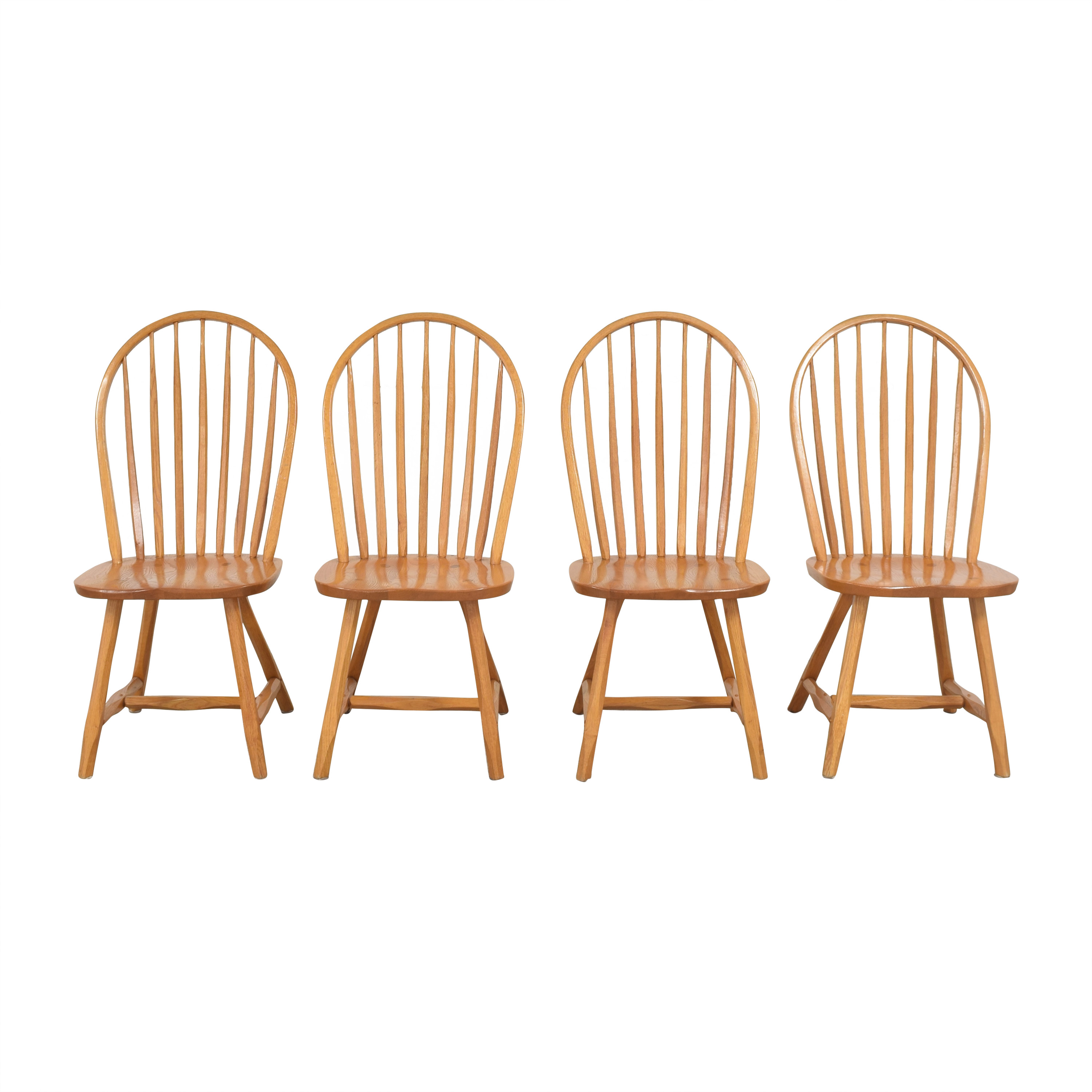 Hunt Country Furniture Hunt Country Furniture Continuous Bow Side Chairs pa