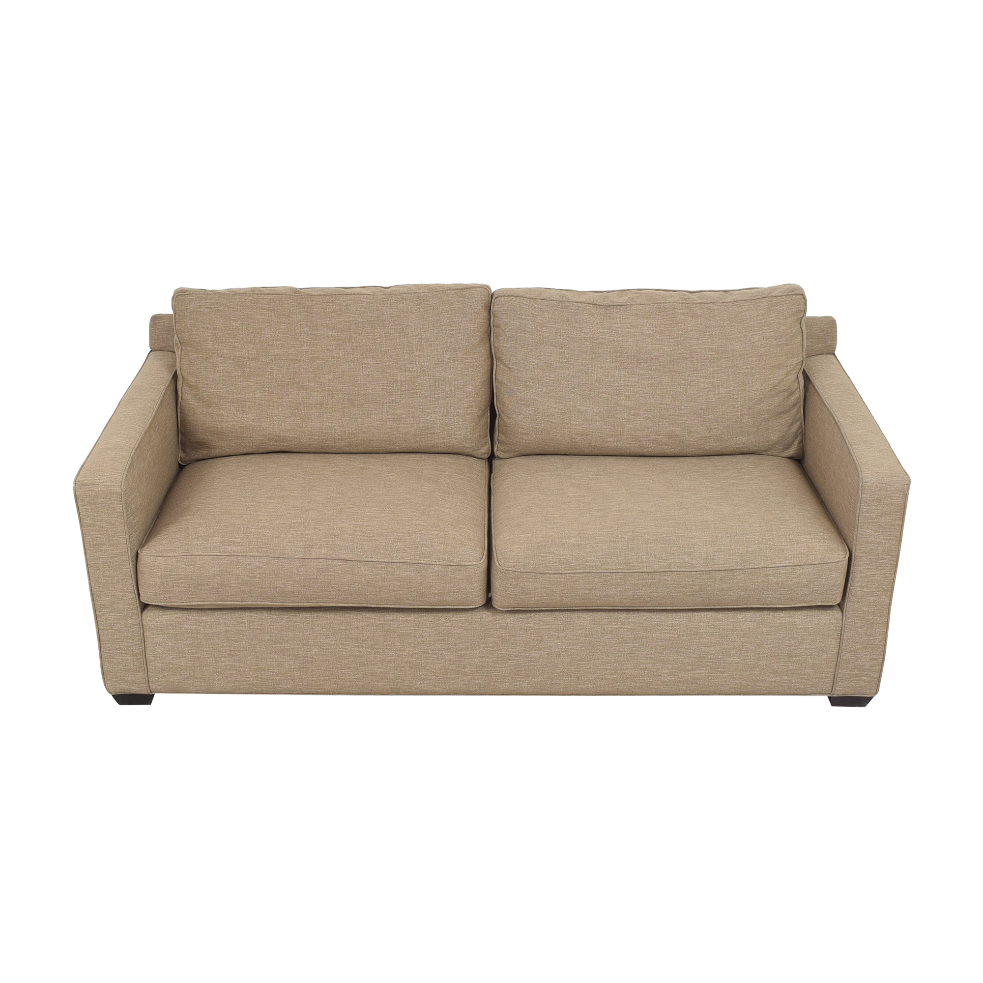 Crate & Barrel Crate & Barrel Davis Track Arm Sofa nyc
