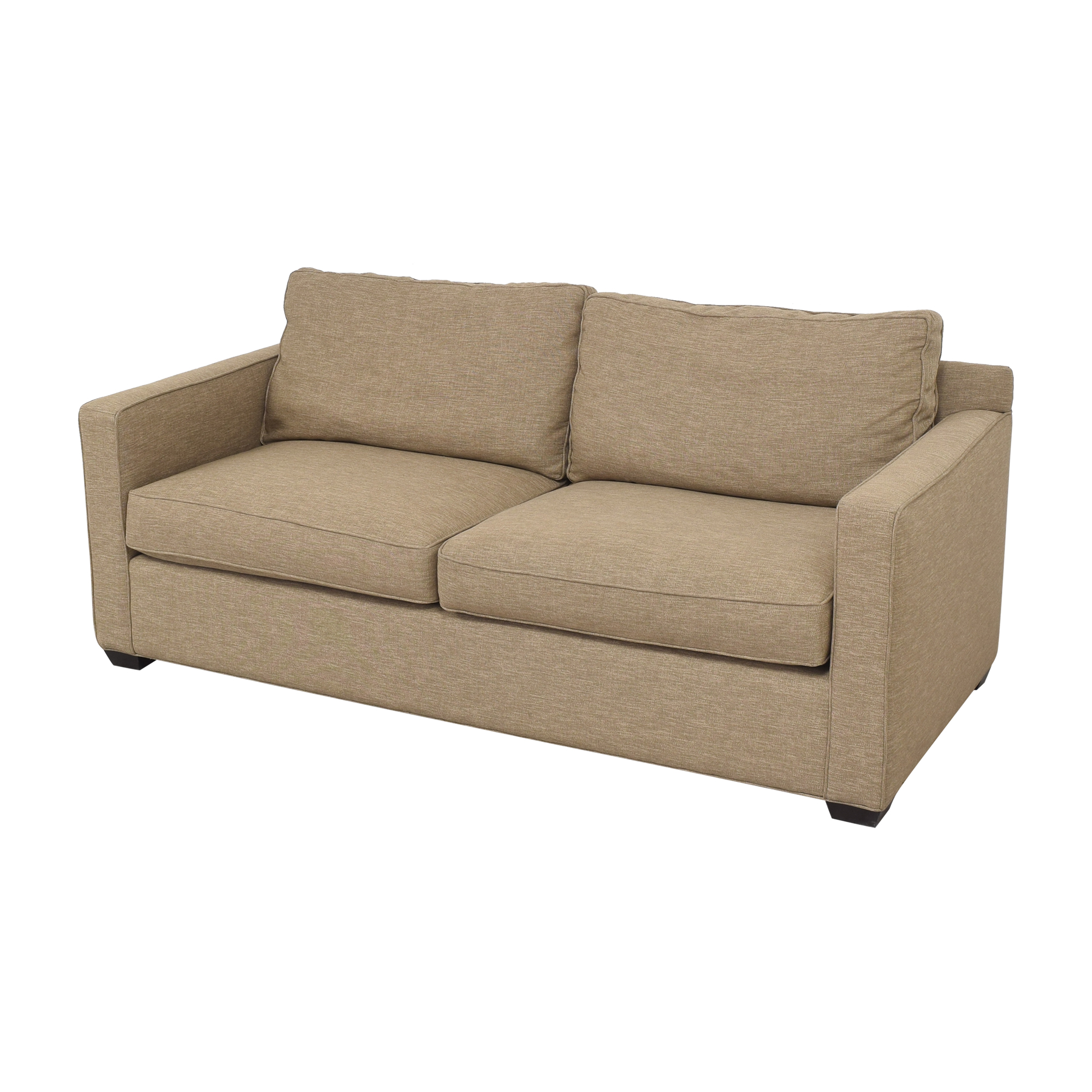 Crate & Barrel Davis Track Arm Sofa / Classic Sofas
