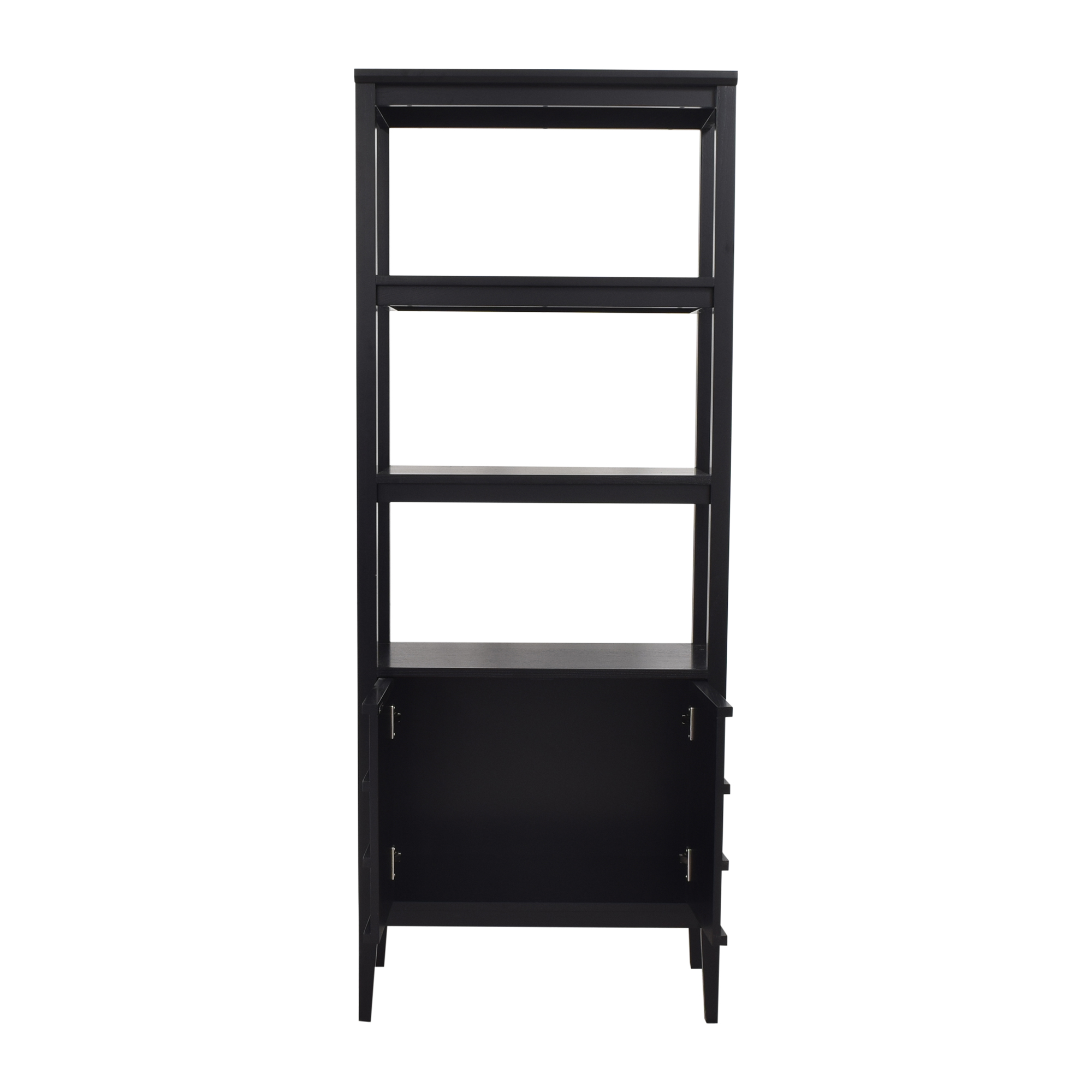 Crate & Barrel Crate & Barrel Spotlight Ebony Bookcase nyc