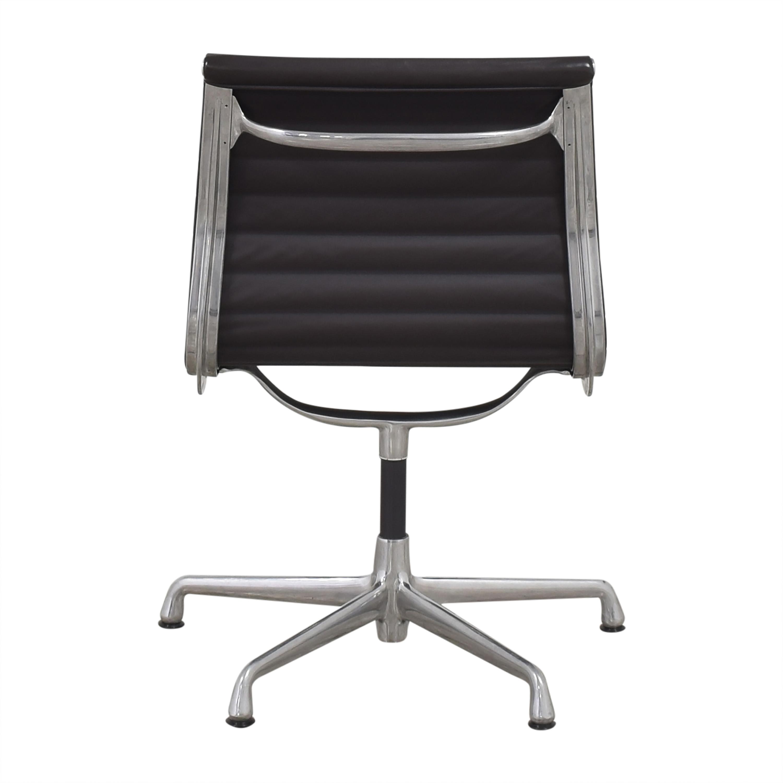 Herman Miller  Herman Miller Eames Aluminum Group Office Side Chair dimensions