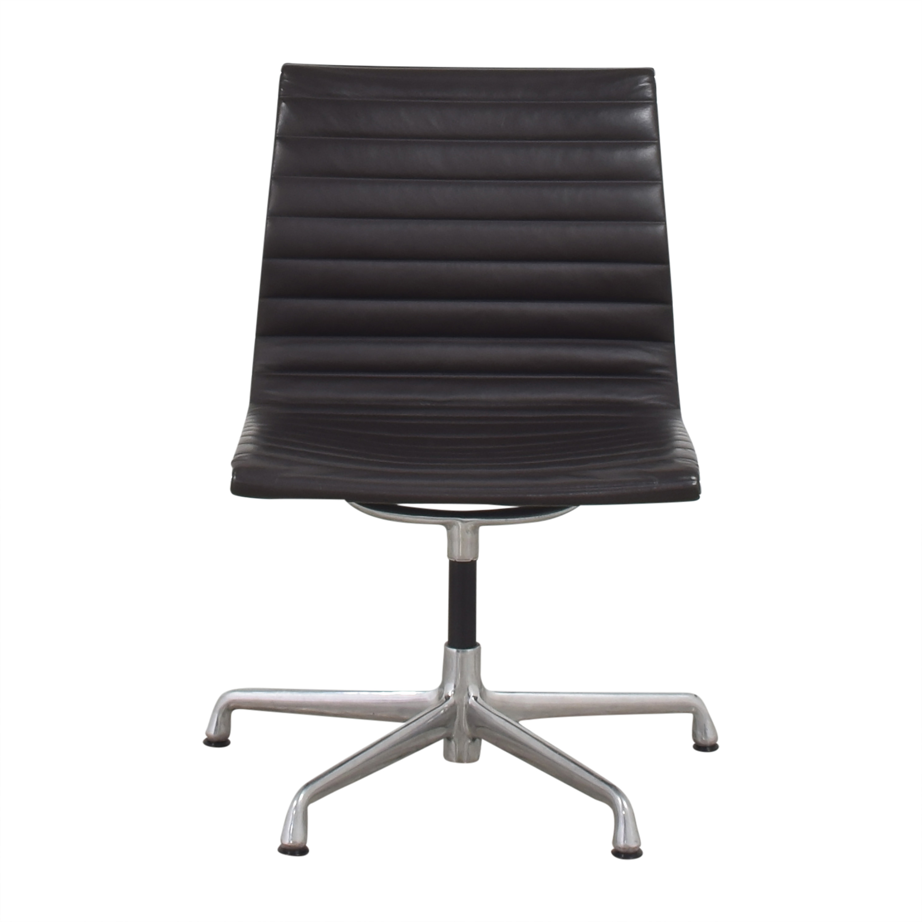 Herman Miller  Herman Miller Eames Aluminum Group Office Side Chair dimensions