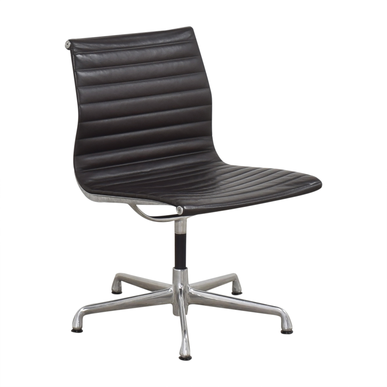 Herman Miller  Herman Miller Eames Aluminum Group Office Side Chair ma
