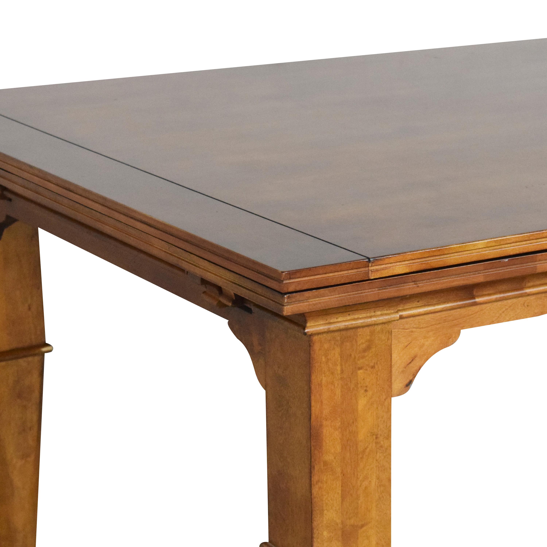 shop Kincaid Furniture Extendable Dining Table Kincaid Furniture Tables