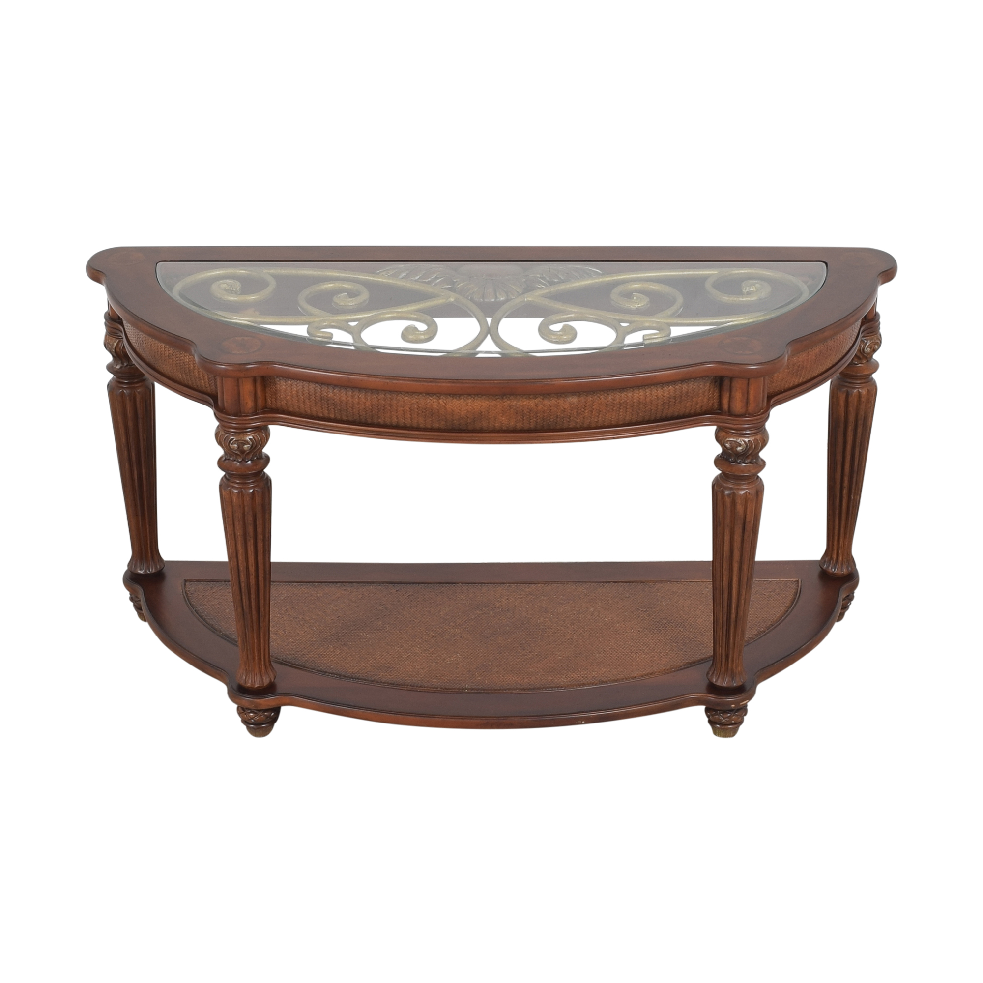 Tommy Bahama Home Tommy Bahama Home Demilune Console Table dimensions