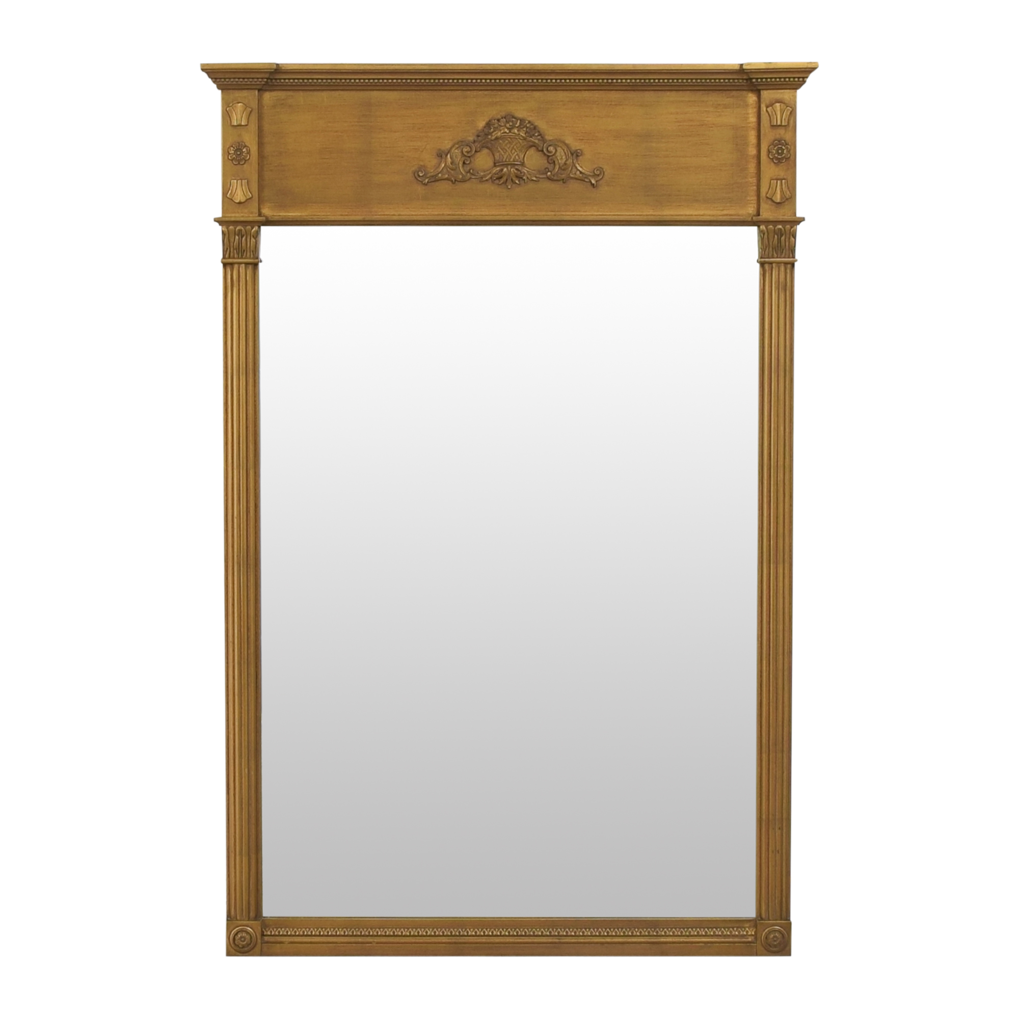 shop Neoclassical-Style Framed Wall Mirror  Decor