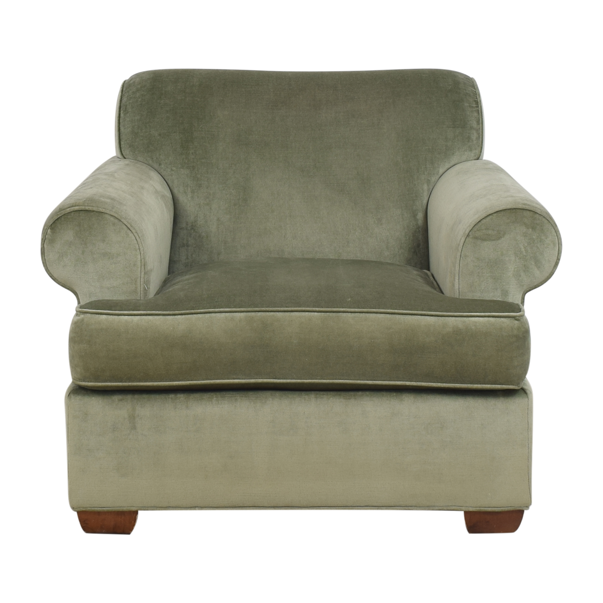 buy Century Furniture Roll Arm Club Chair Century Furniture