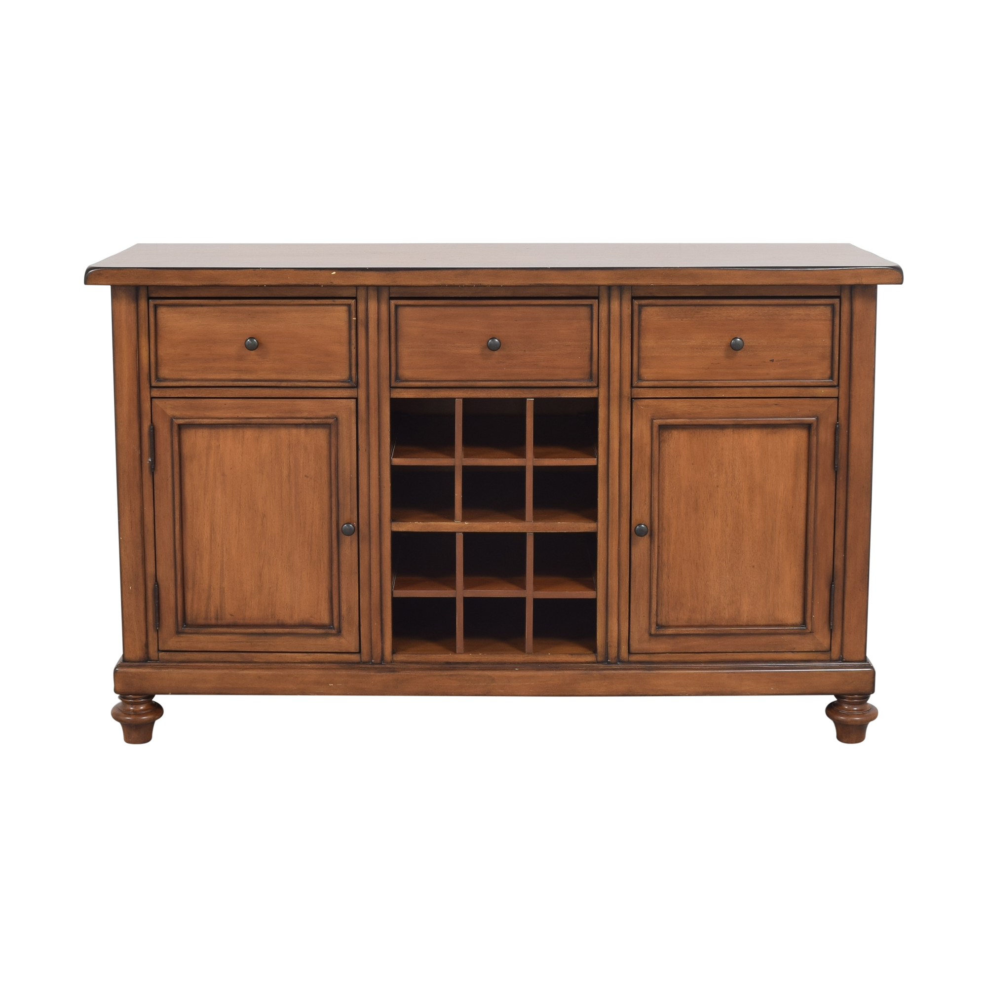 shop Pottery Barn Montego Wine Buffet Pottery Barn Cabinets & Sideboards