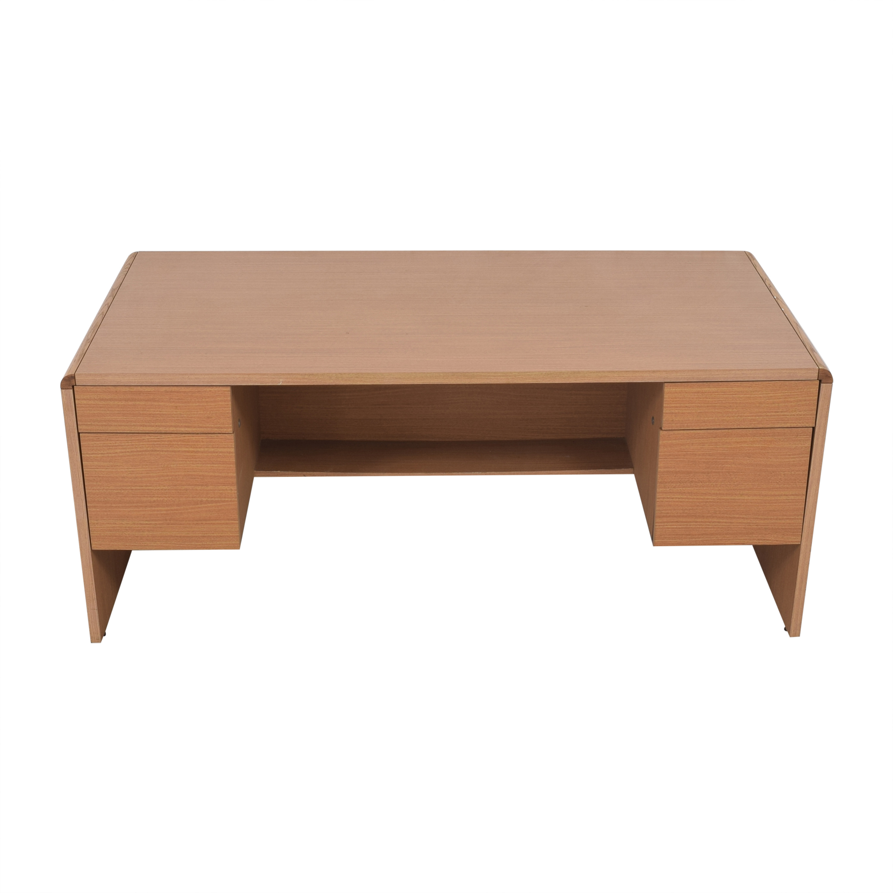Hon Hon Double Pedestal Executive Desk Tables