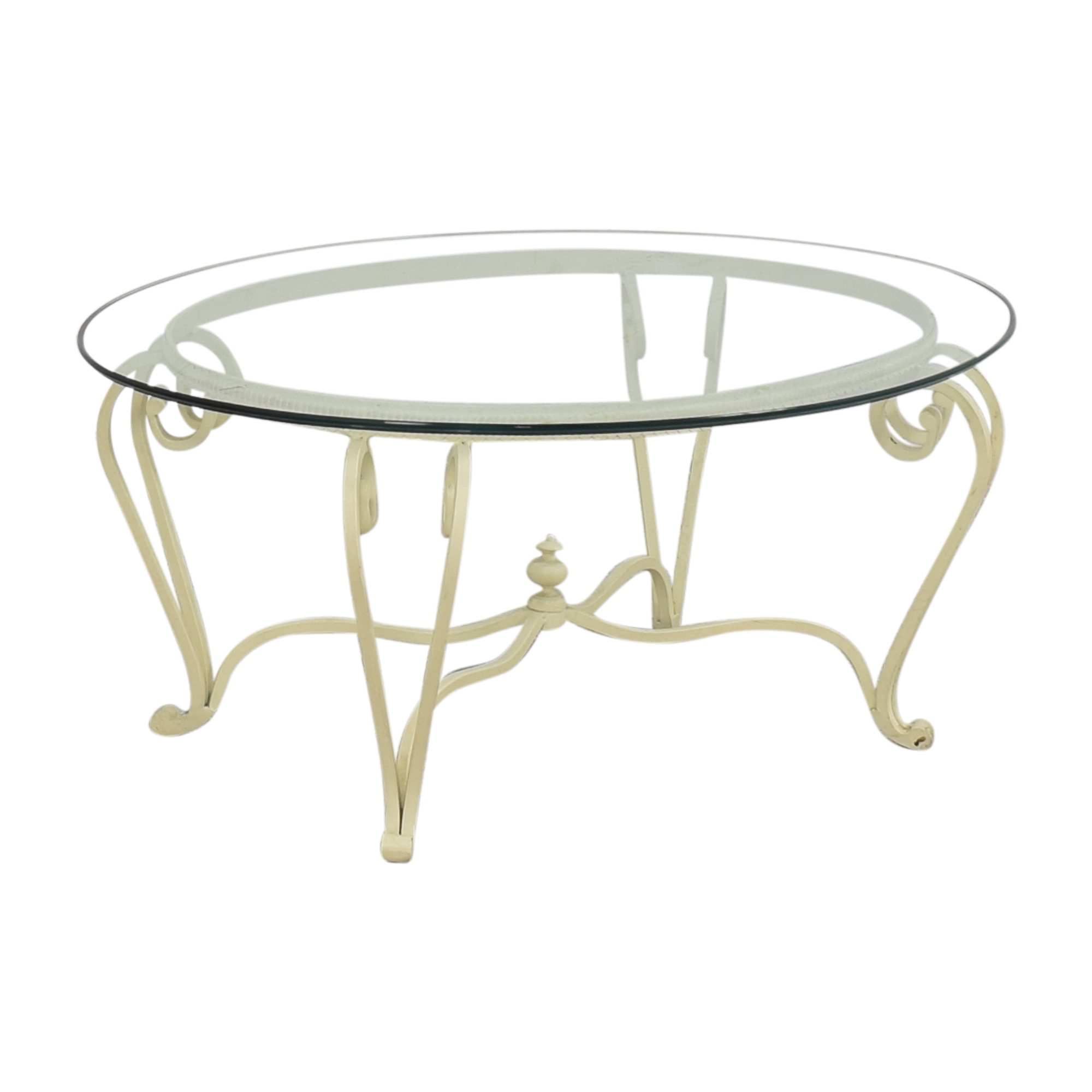 Ethan Allen Ethan Allen Oval Coffee Table Coffee Tables