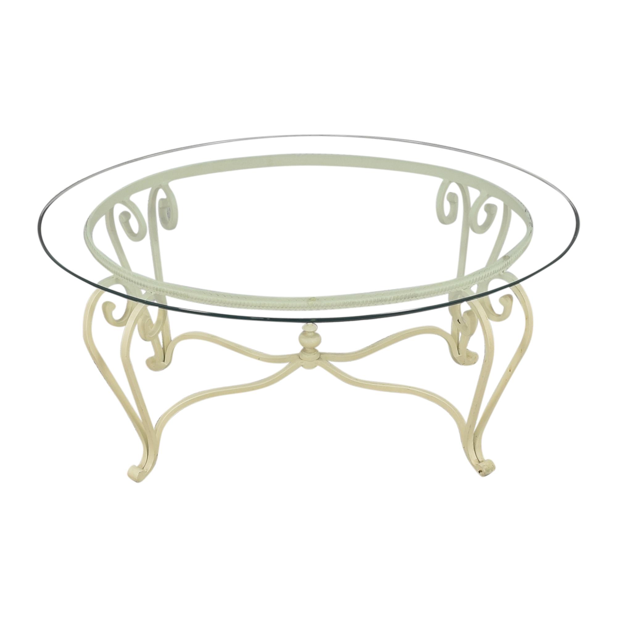 Ethan Allen Ethan Allen Oval Coffee Table on sale