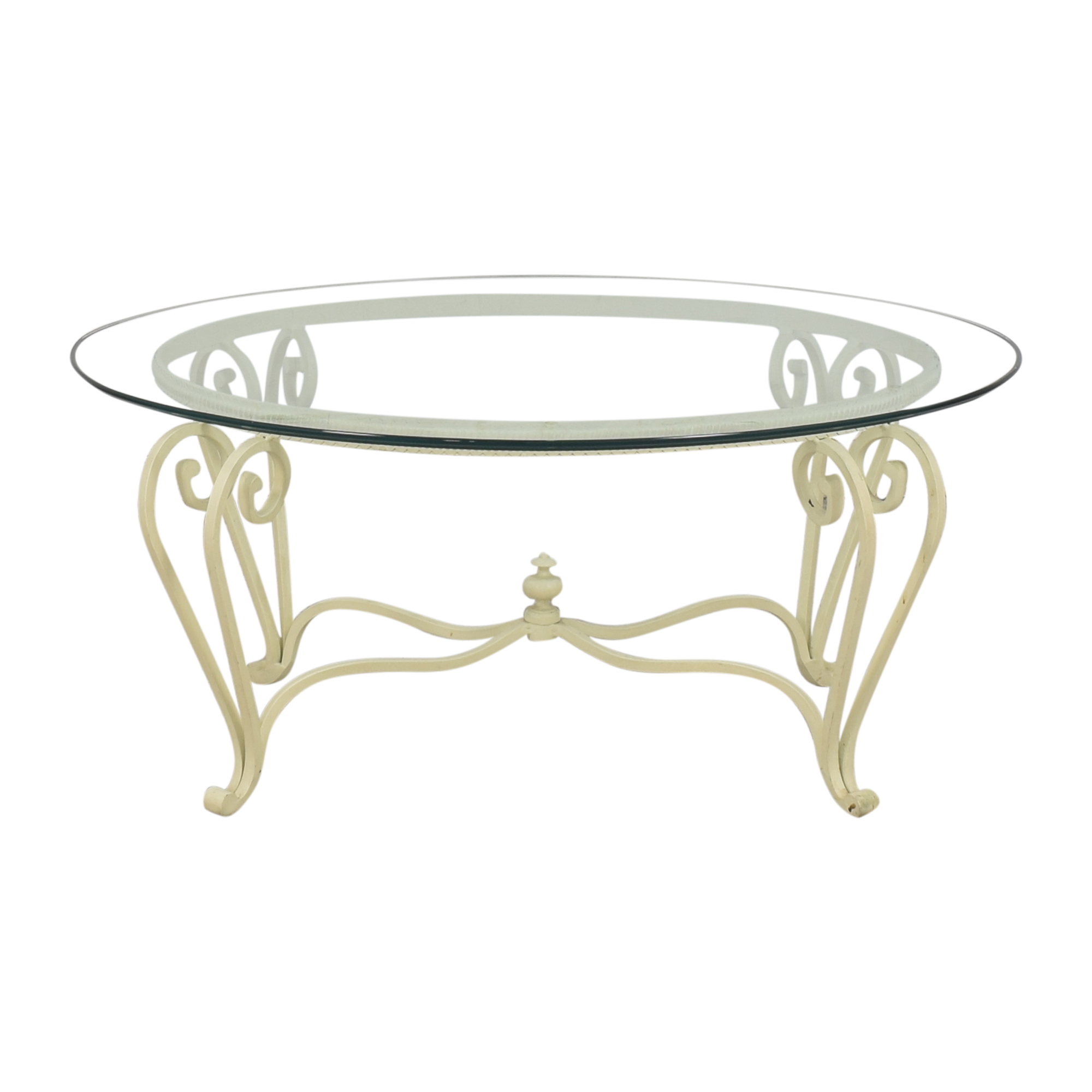 Ethan Allen Oval Coffee Table sale