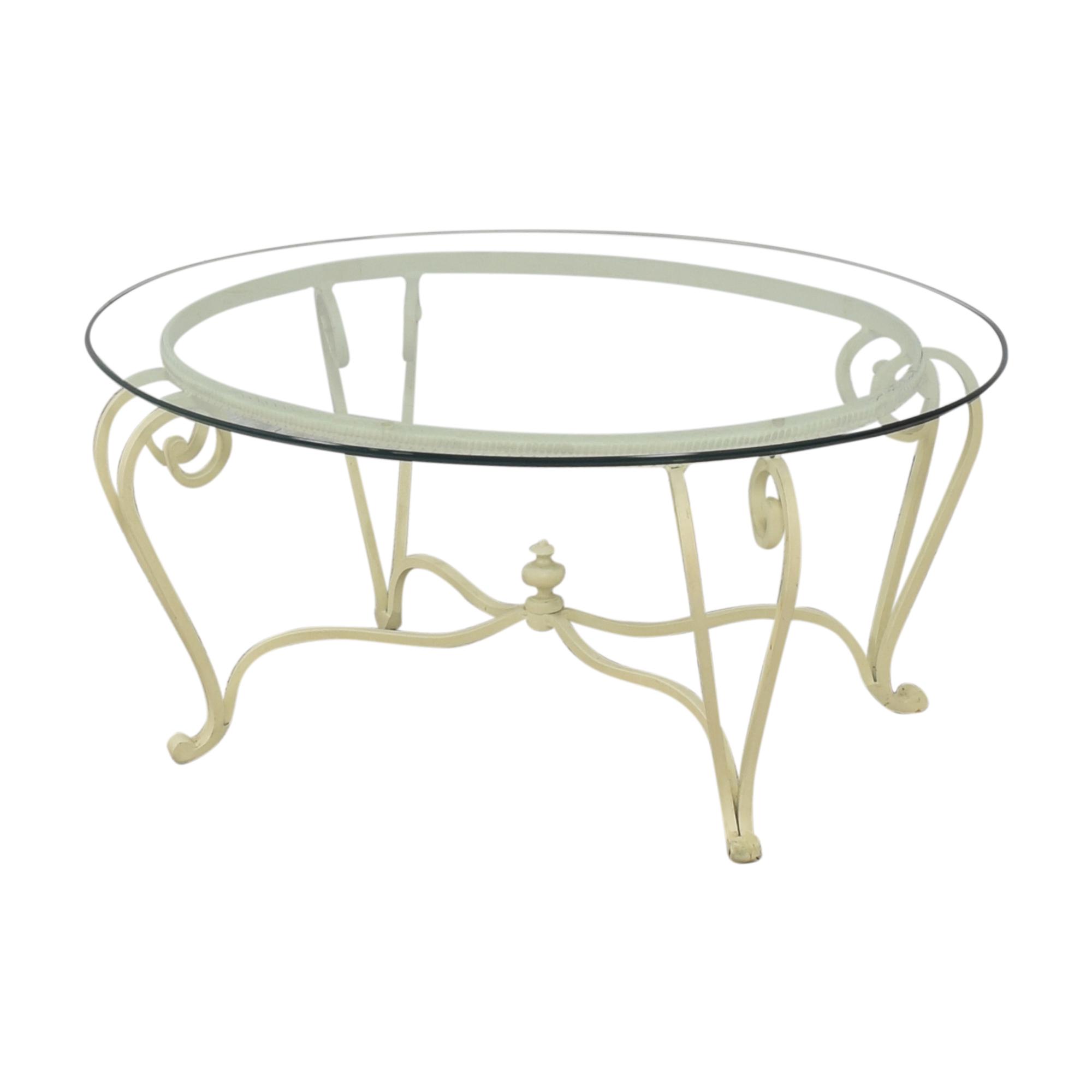 Ethan Allen Ethan Allen Oval Coffee Table discount