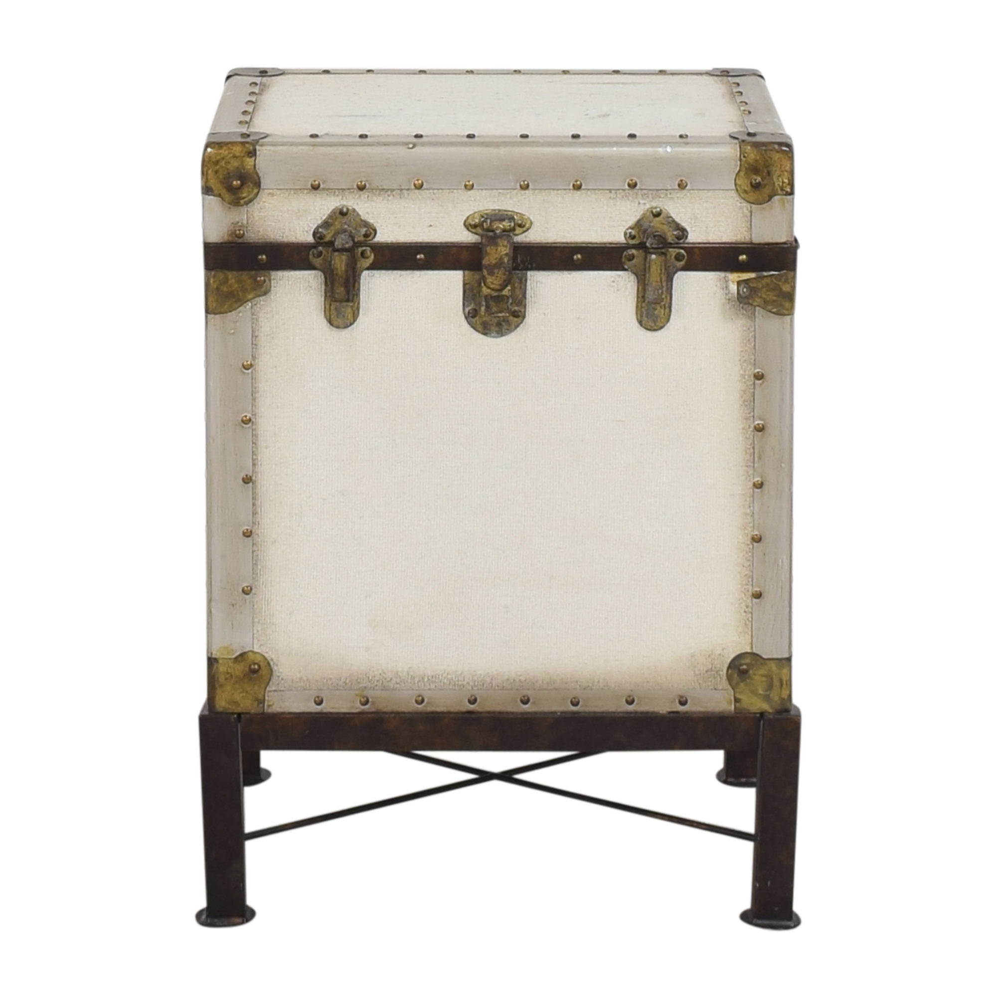 Pottery Barn Pottery Barn Ludlow Trunk End Table used